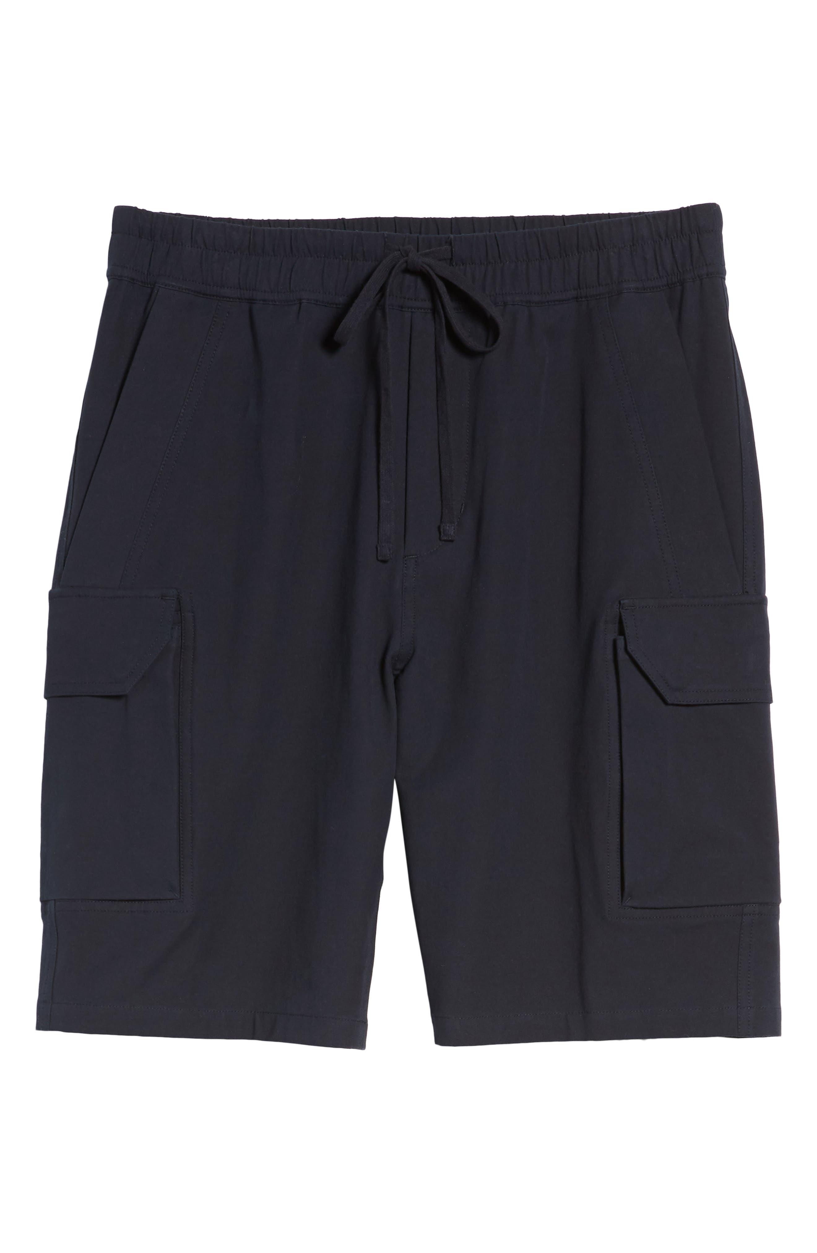 Regular Fit Drawstring Shorts,                             Alternate thumbnail 7, color,                             New Coastal