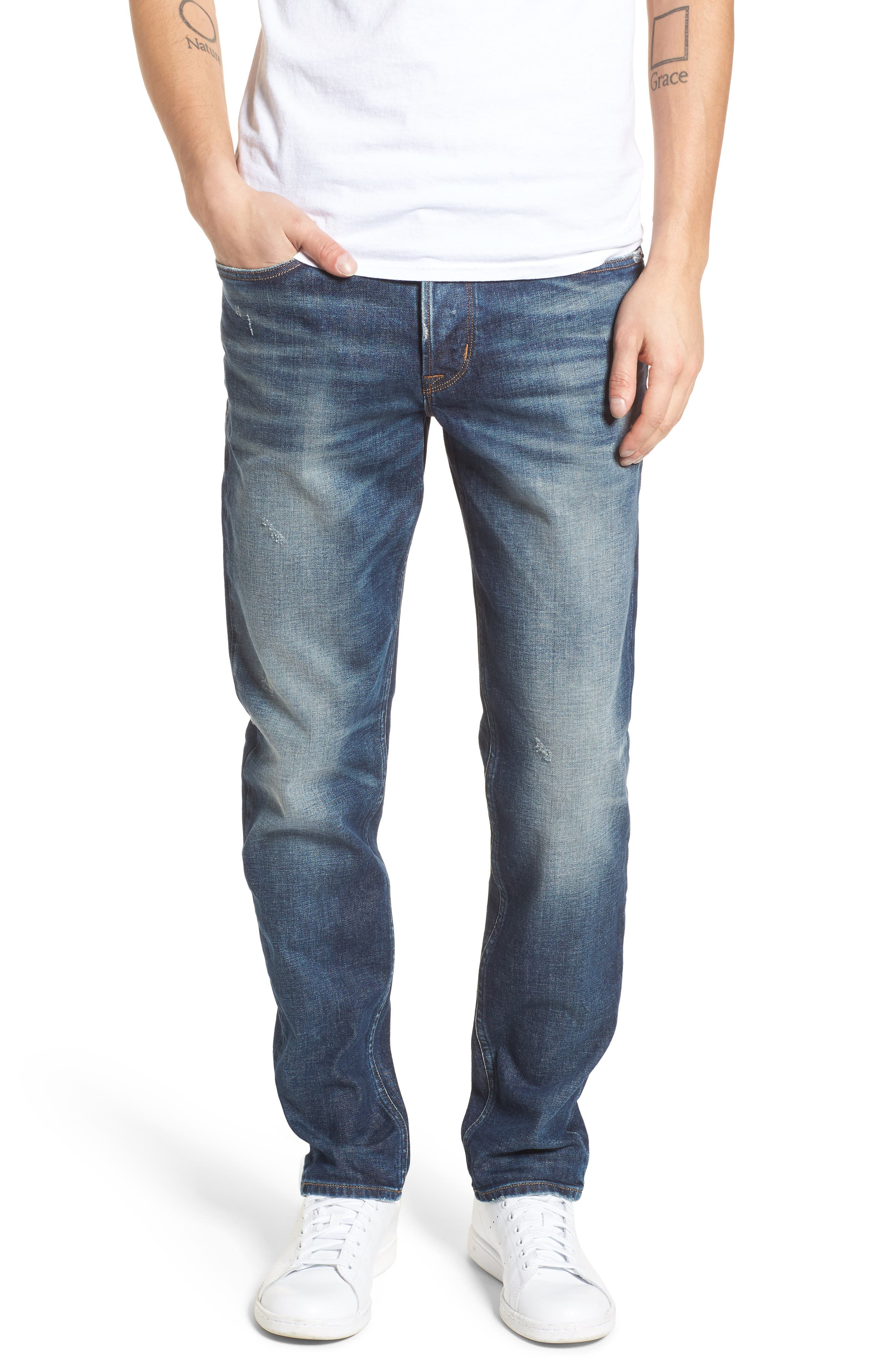Hudson Jeans Sartor Slouchy Skinny Fit Jeans (All City)
