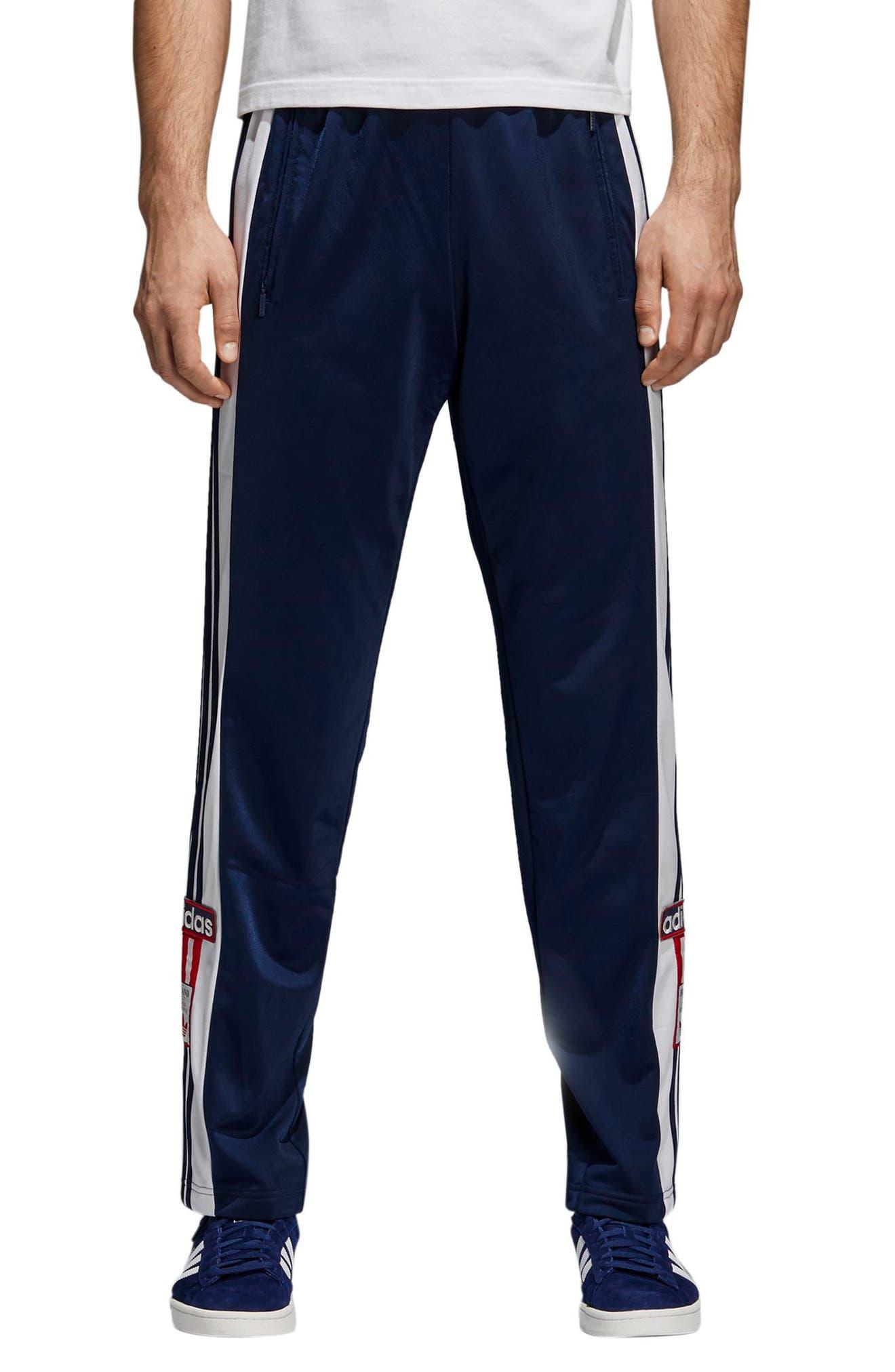 Adibreak Track Pants,                             Main thumbnail 1, color,                             Collegiate Navy