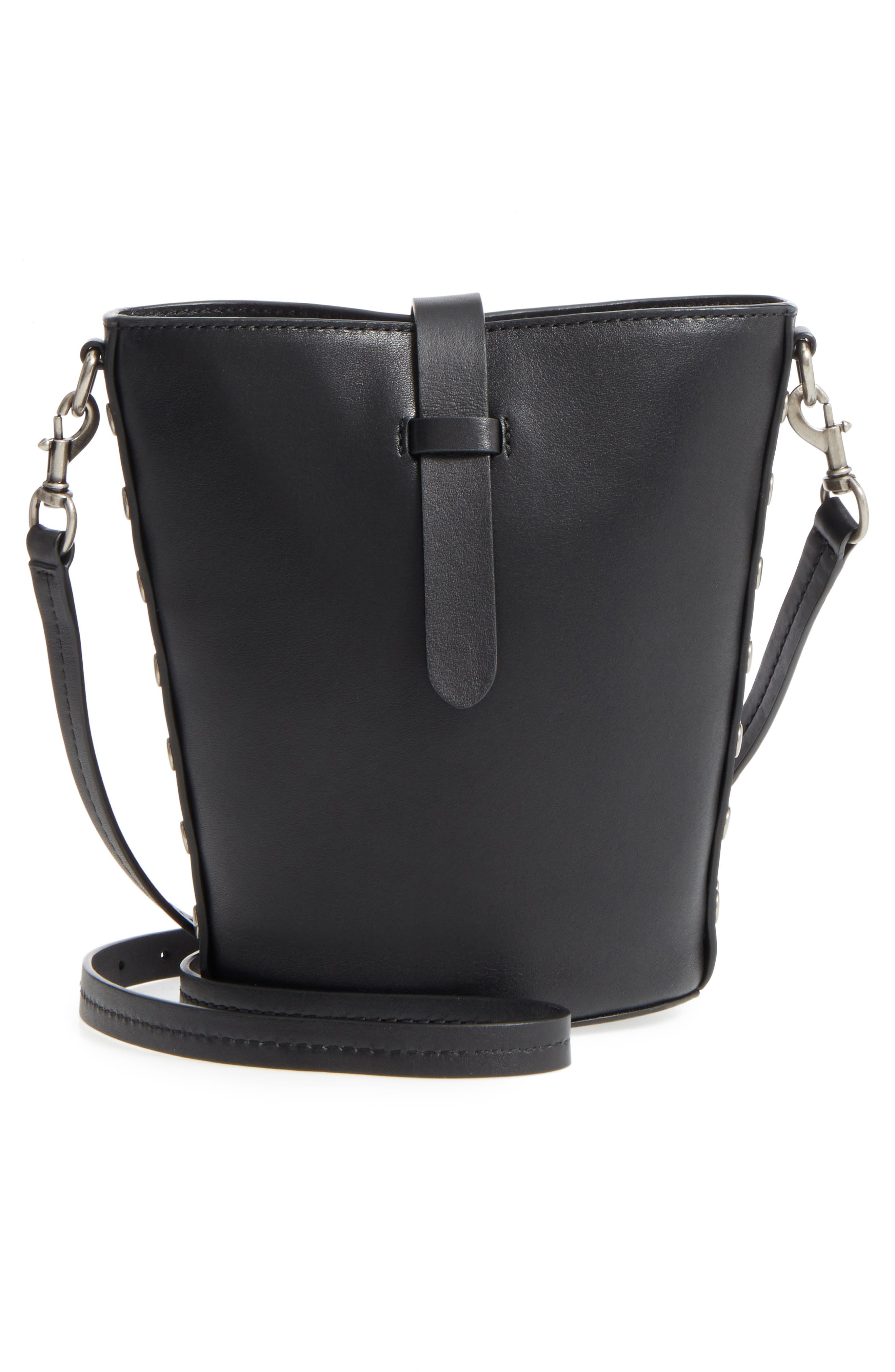 Alternate Image 3  - Rebecca Minkoff Slim Leather Bucket Bag