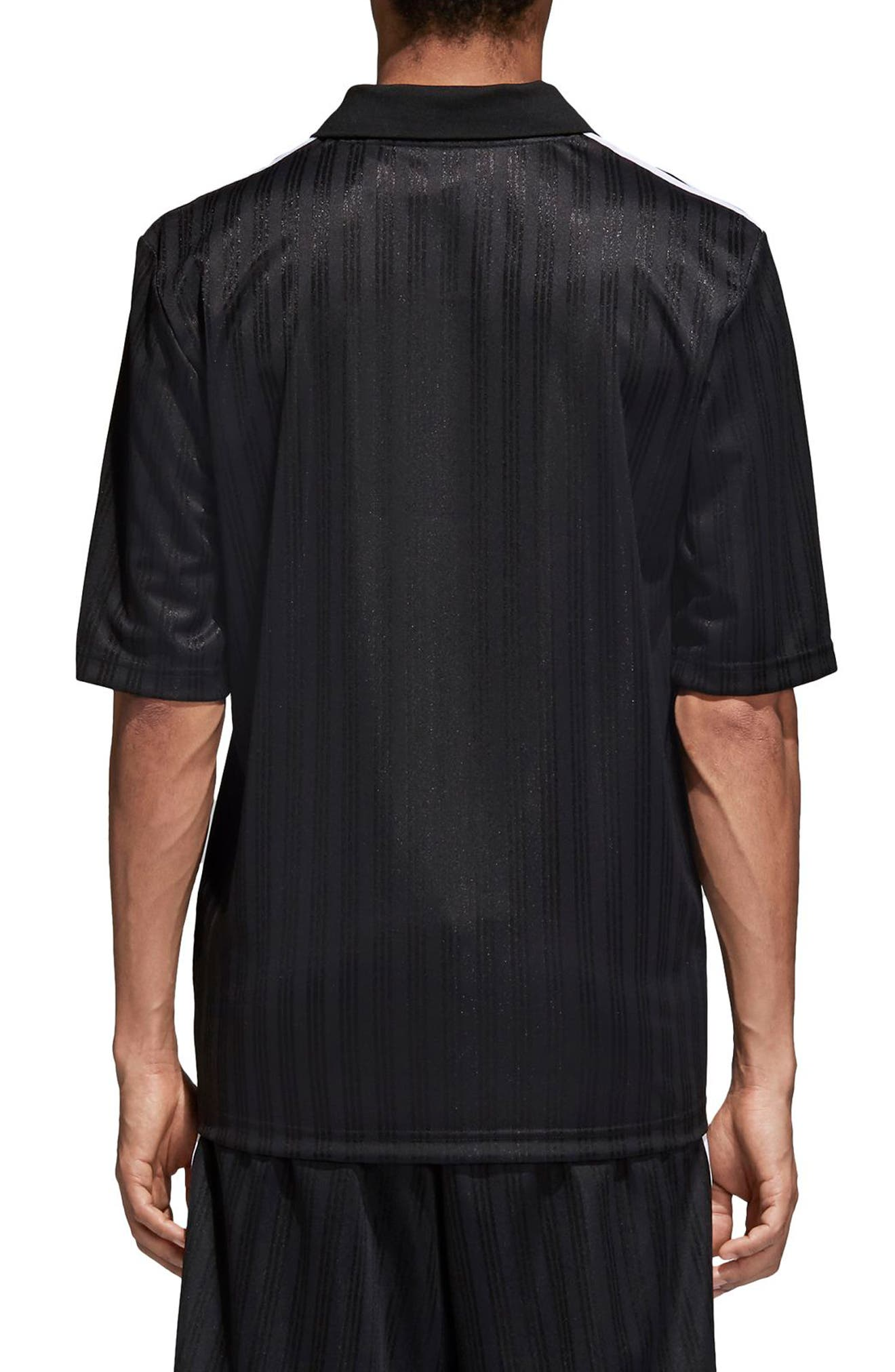 adidas Football Jersey Polo,                             Alternate thumbnail 2, color,                             Black