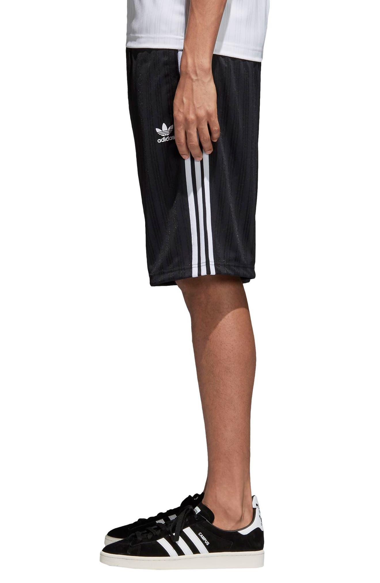 Football Shorts,                             Alternate thumbnail 3, color,                             Black