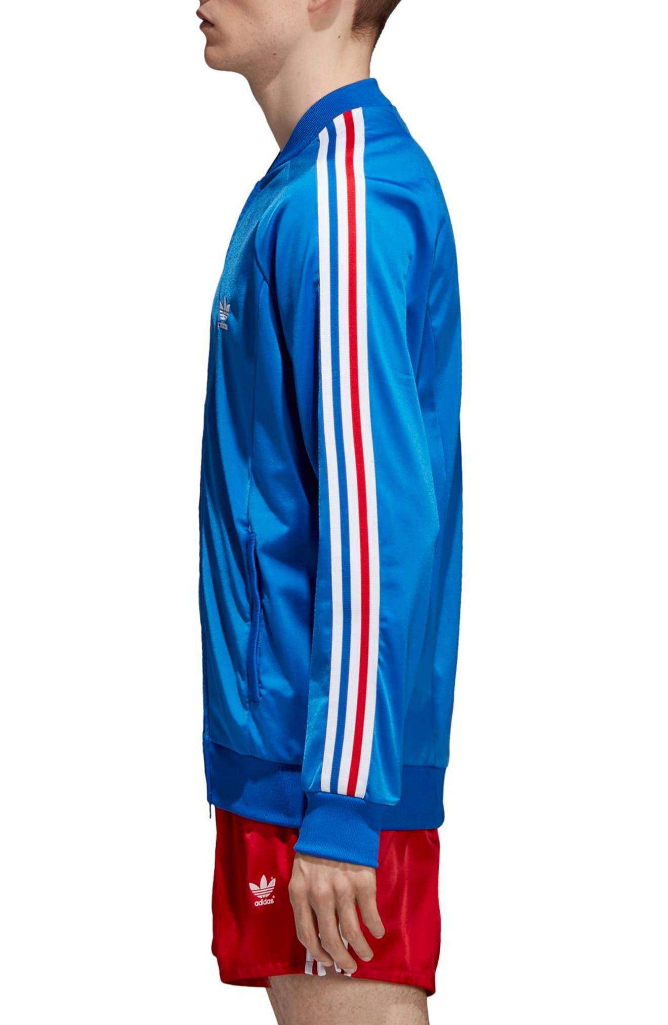 SST Track Jacket,                             Alternate thumbnail 3, color,                             Blue
