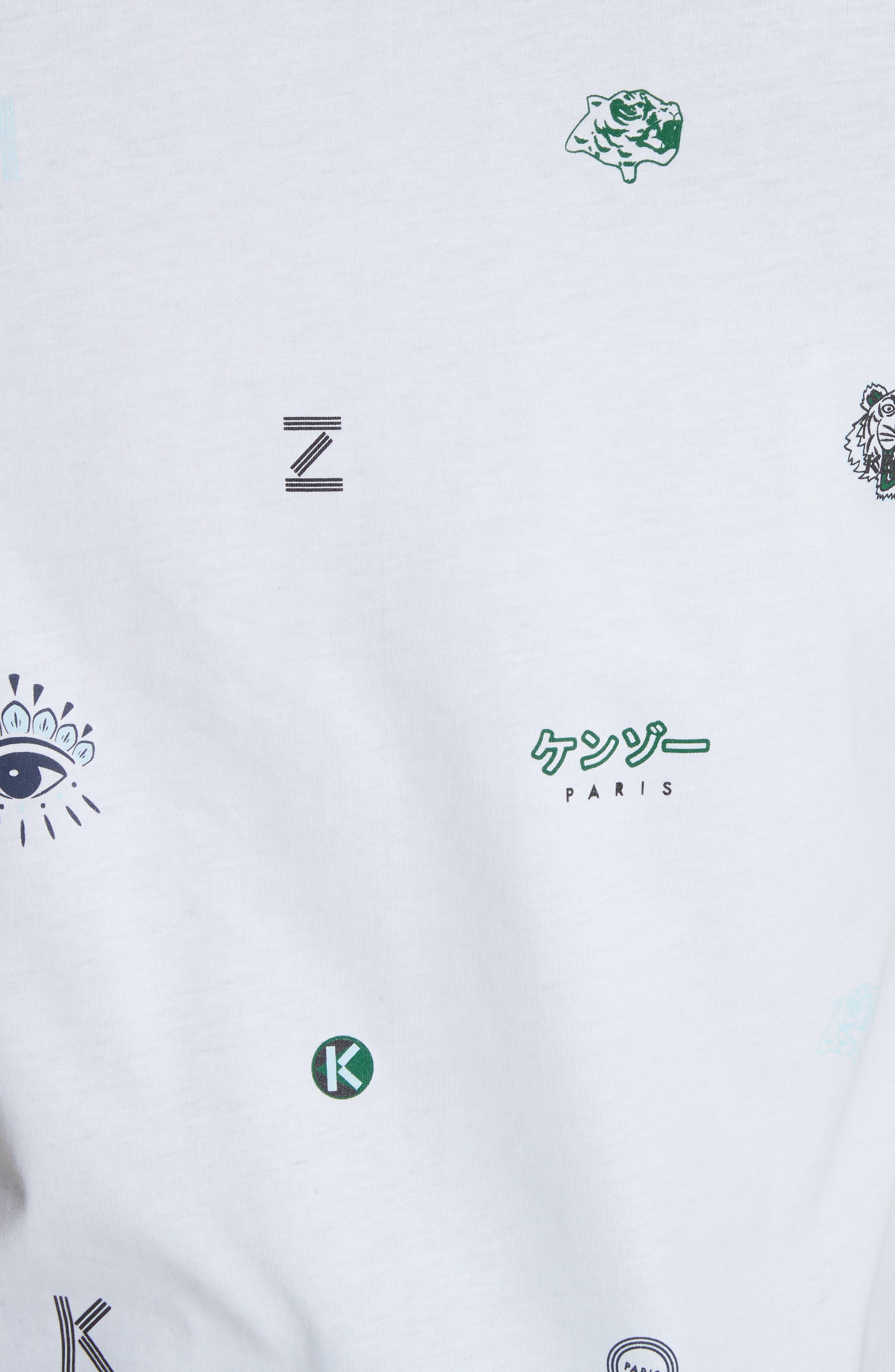 Ryuichi Sakamoto Graphic T-Shirt,                             Alternate thumbnail 5, color,                             White