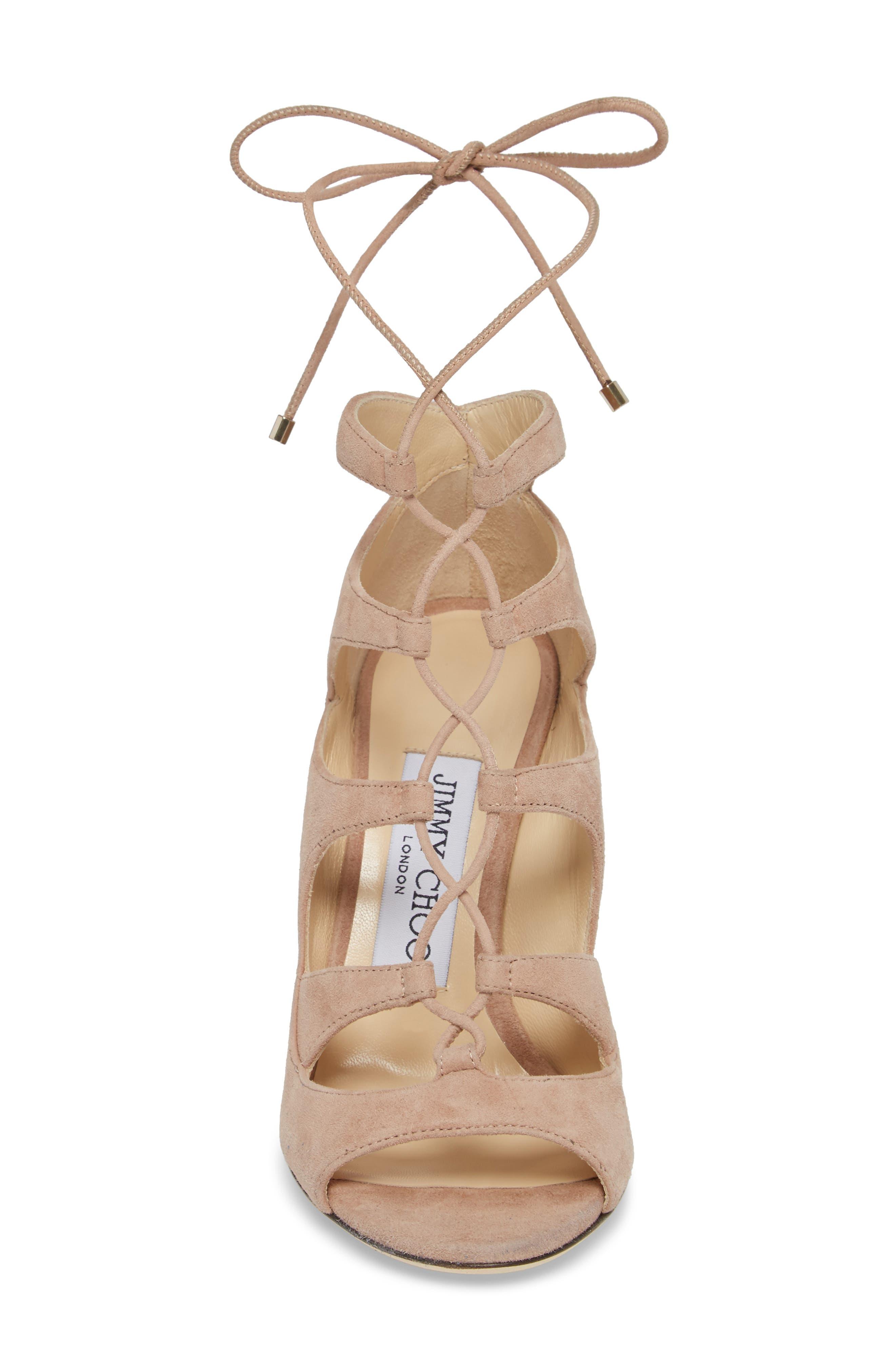 Alternate Image 4  - Jimmy Choo Blake Lace-Up Sandal (Women)