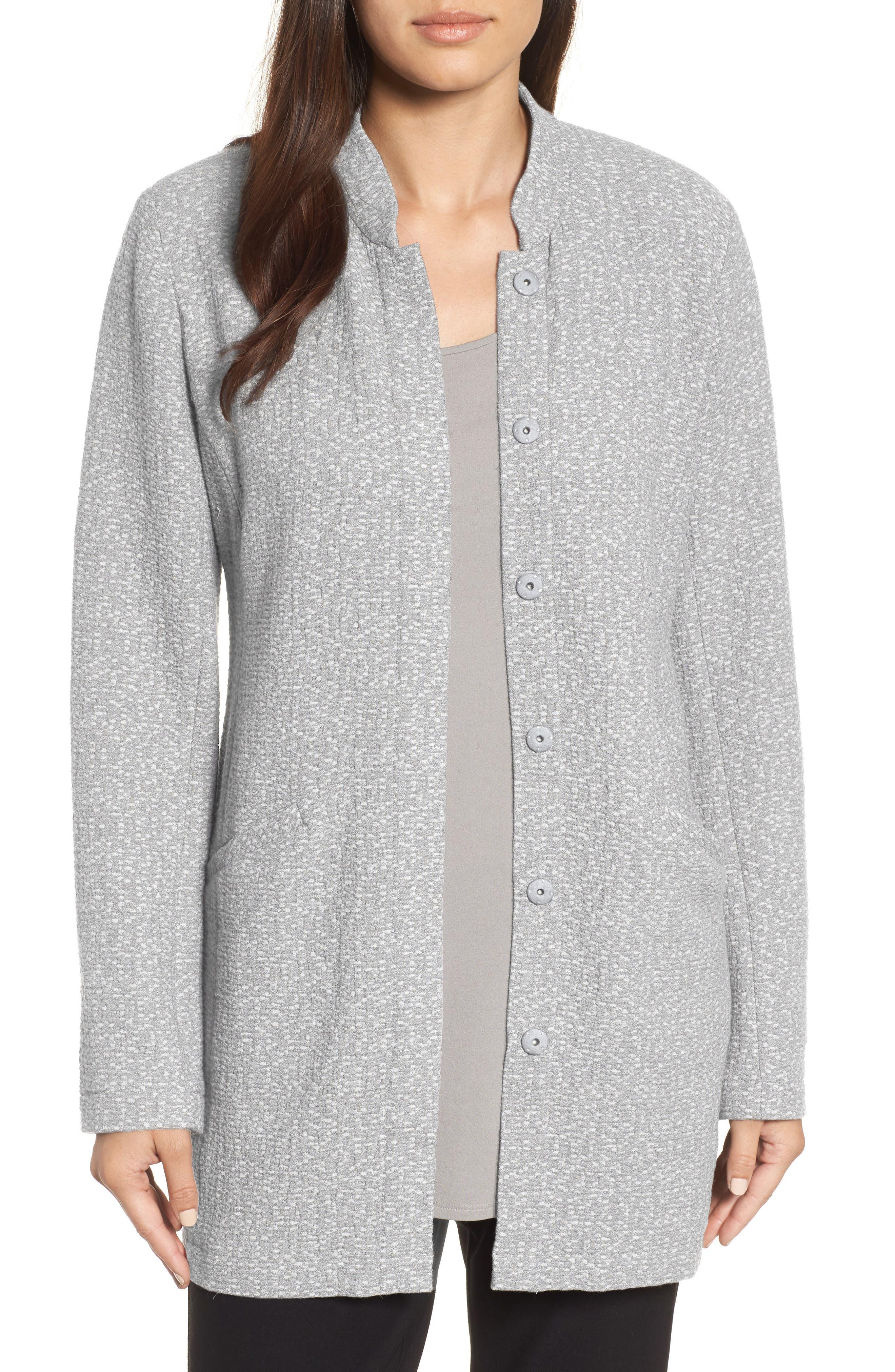 Tweed Jacket,                         Main,                         color, Dark Pearl