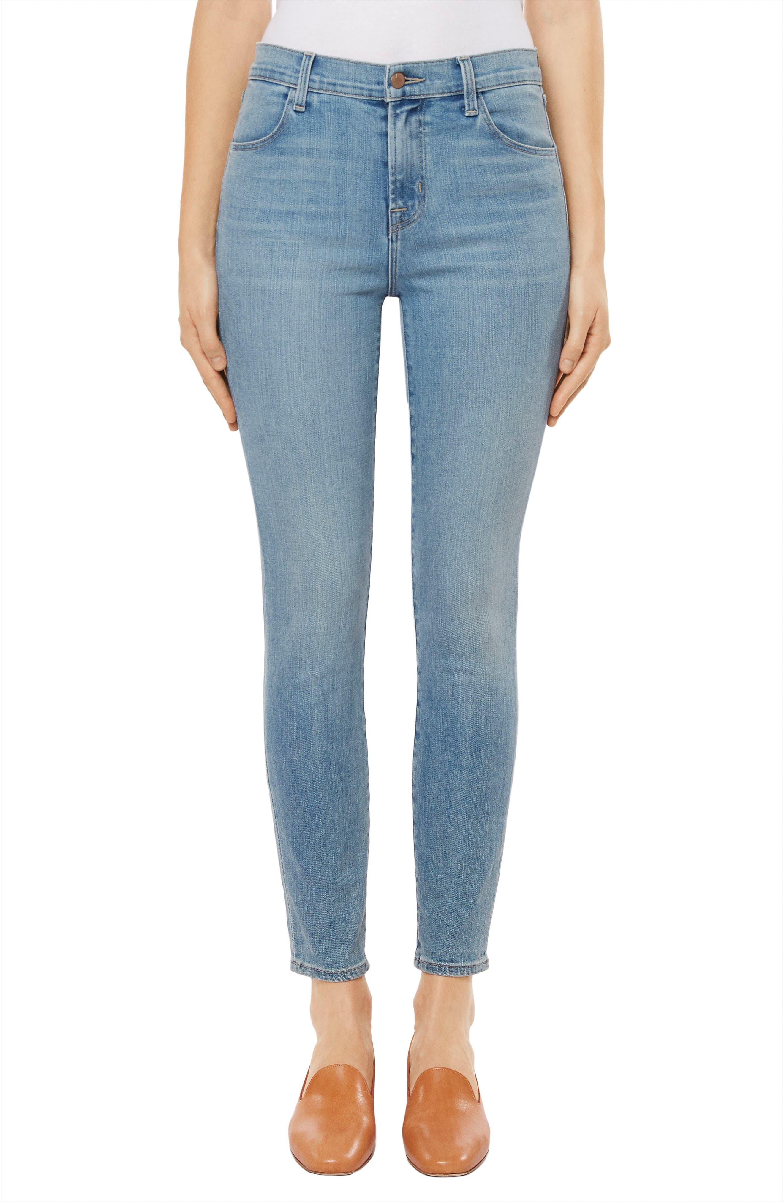Alana Crop Skinny Jeans,                             Main thumbnail 1, color,                             Surge