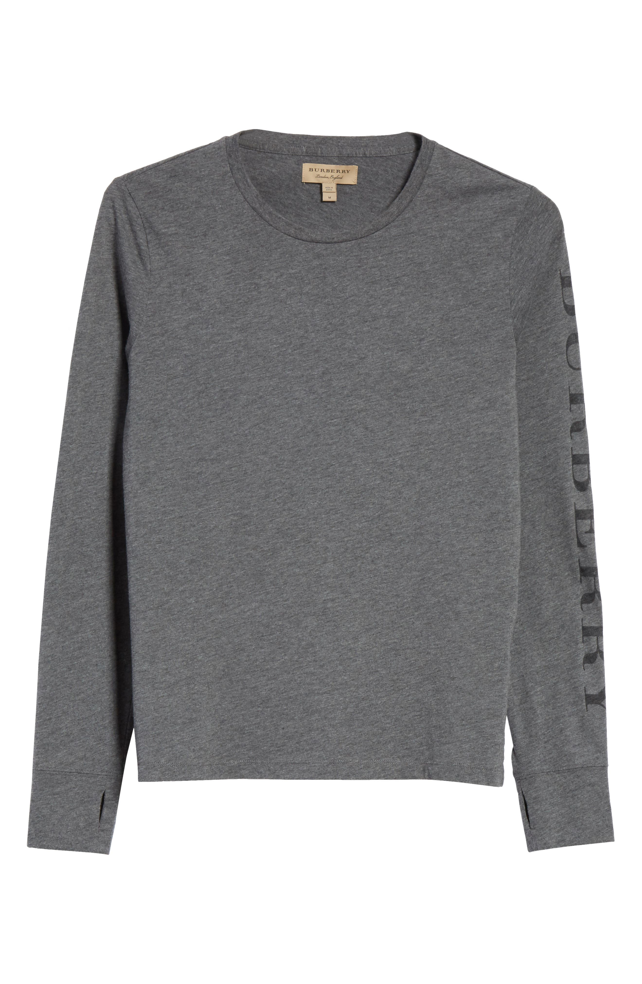 Marchston Regular Fit Crewneck Shirt,                             Main thumbnail 1, color,                             Mid Grey Melange