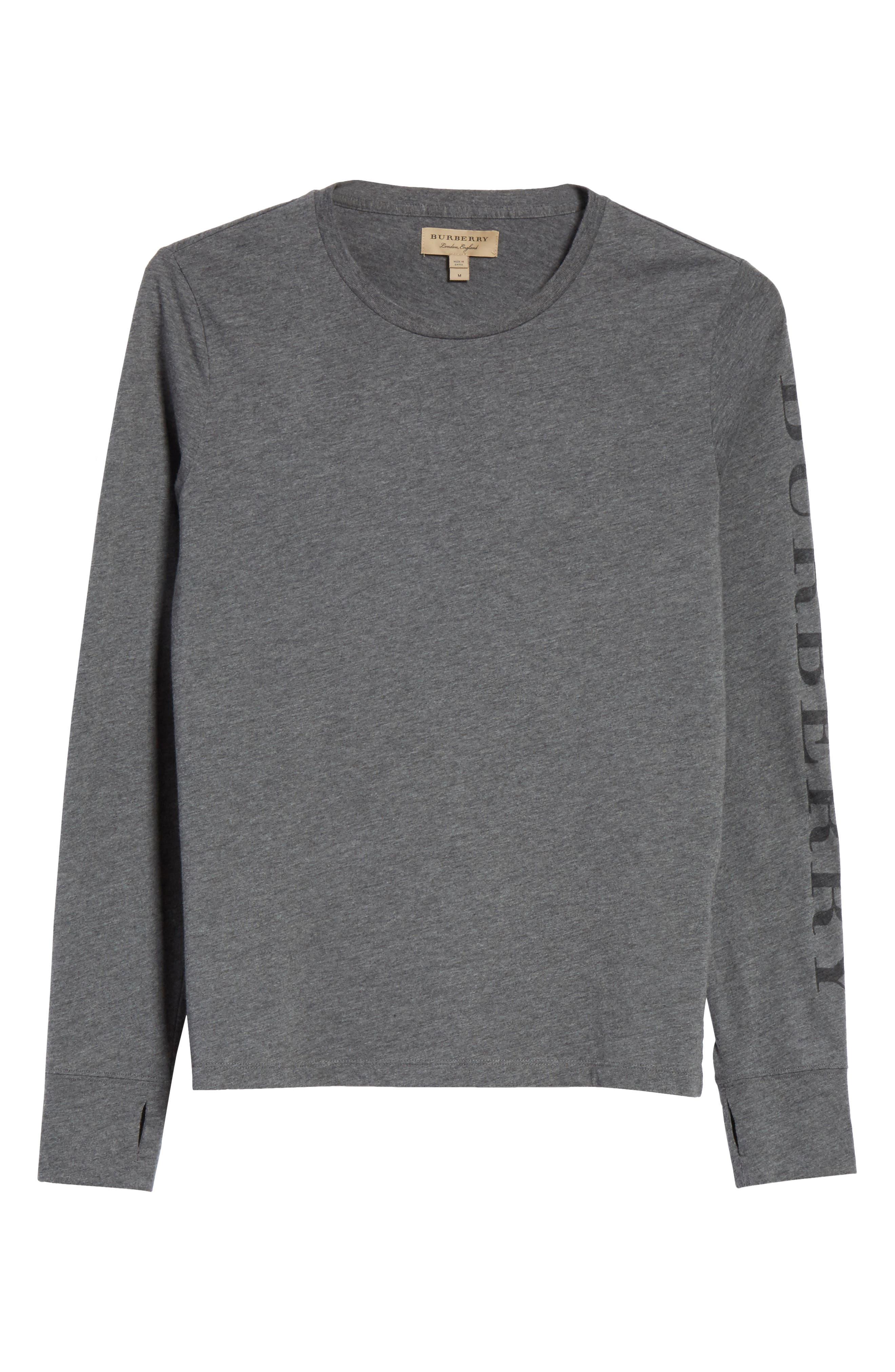 Marchston Regular Fit Crewneck Shirt,                         Main,                         color, Mid Grey Melange