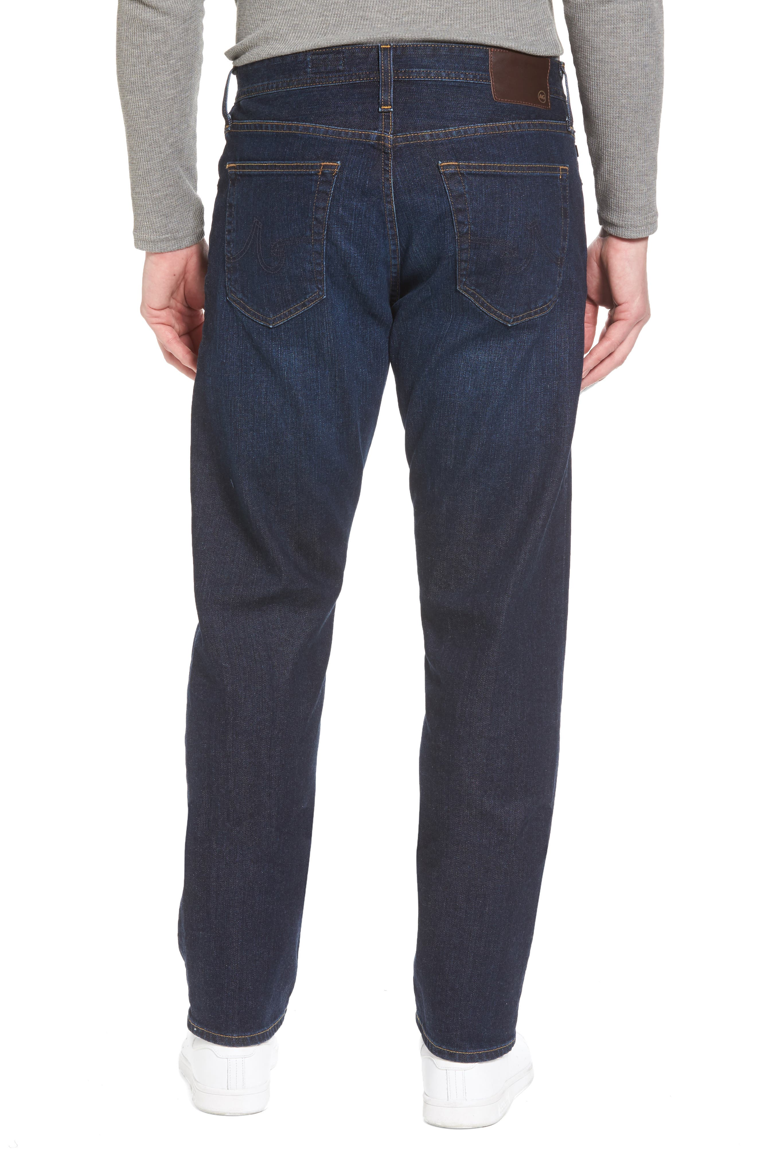 Alternate Image 2  - AG Ives Straight Fit Jeans (Series)