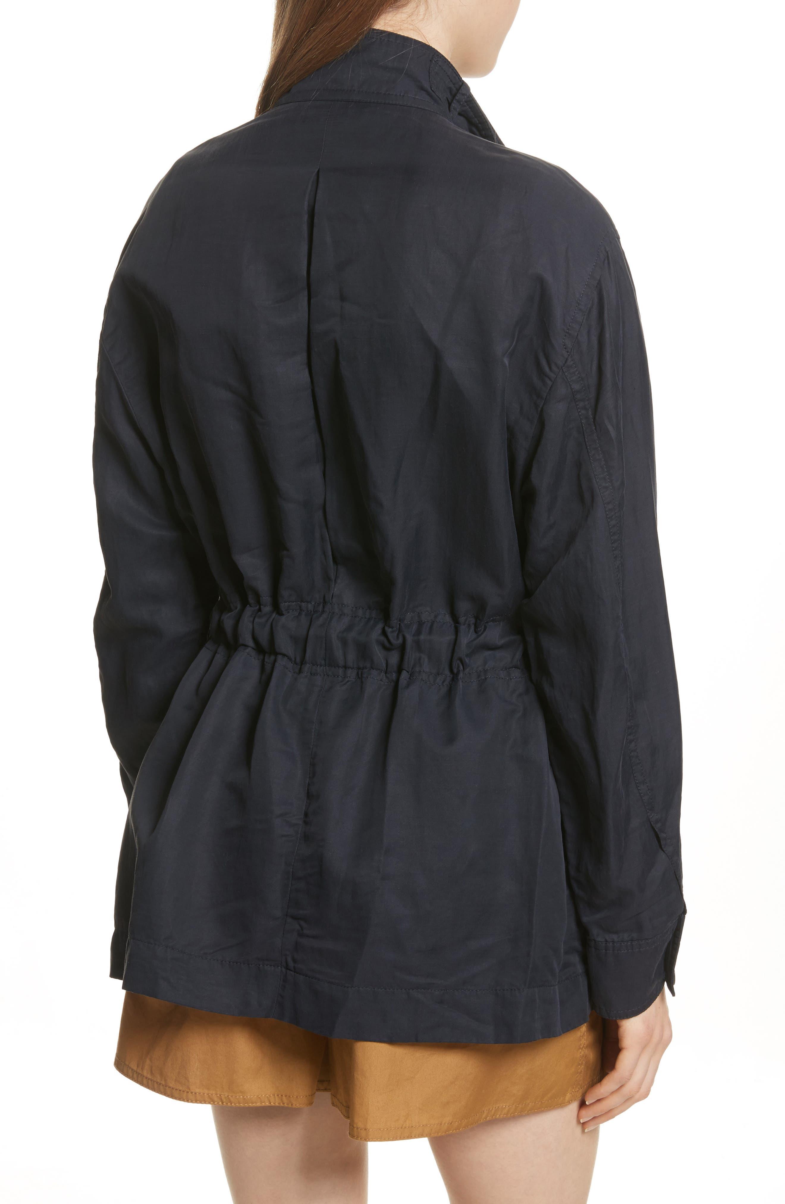 Drapey Jacket,                             Alternate thumbnail 2, color,                             Coastal