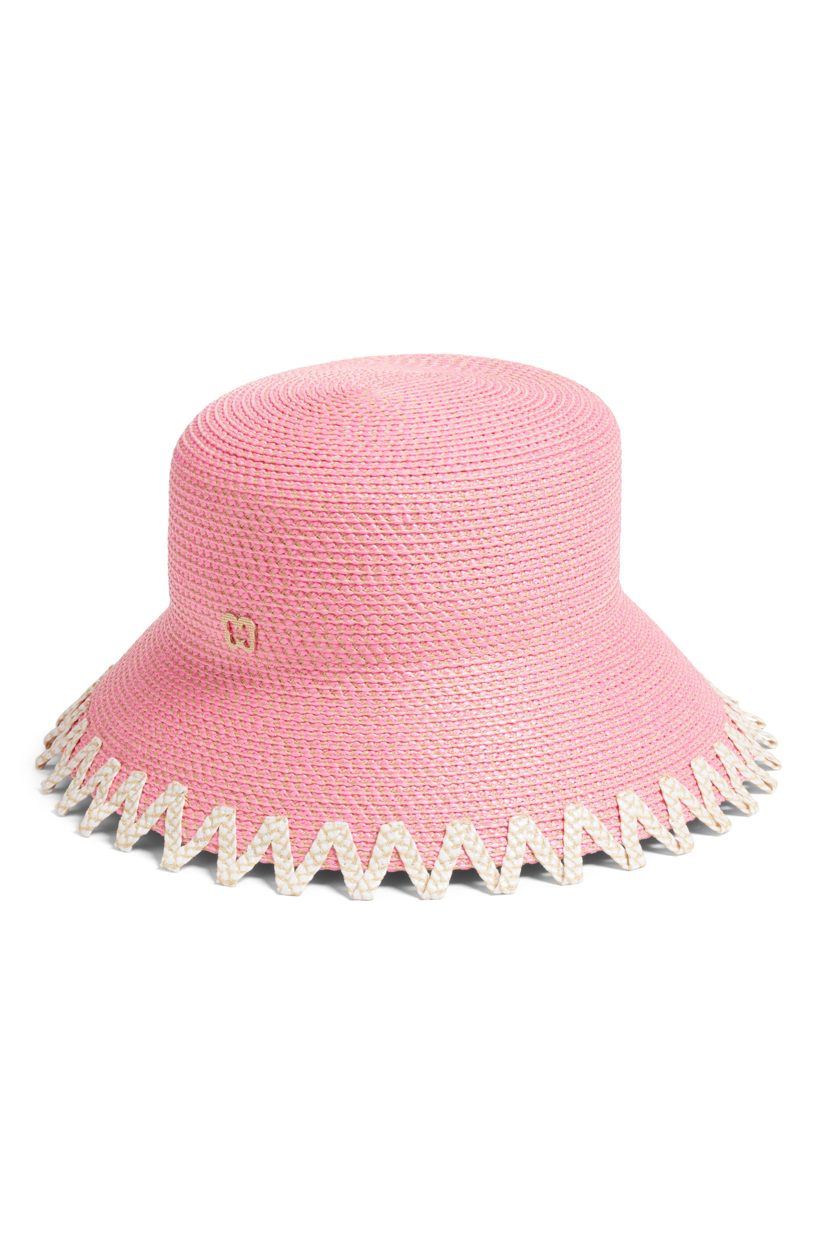 Eloise Squishee<sup>®</sup> Bucket Hat,                             Alternate thumbnail 2, color,                             Pink Mix