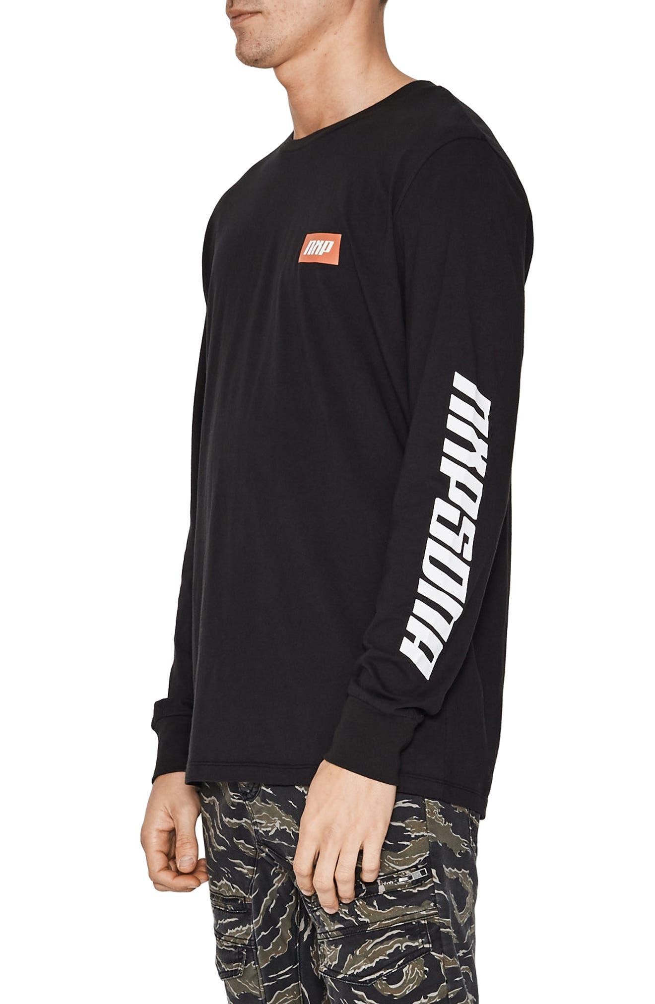 Ultimate Power T-Shirt,                             Alternate thumbnail 3, color,                             Jet Black