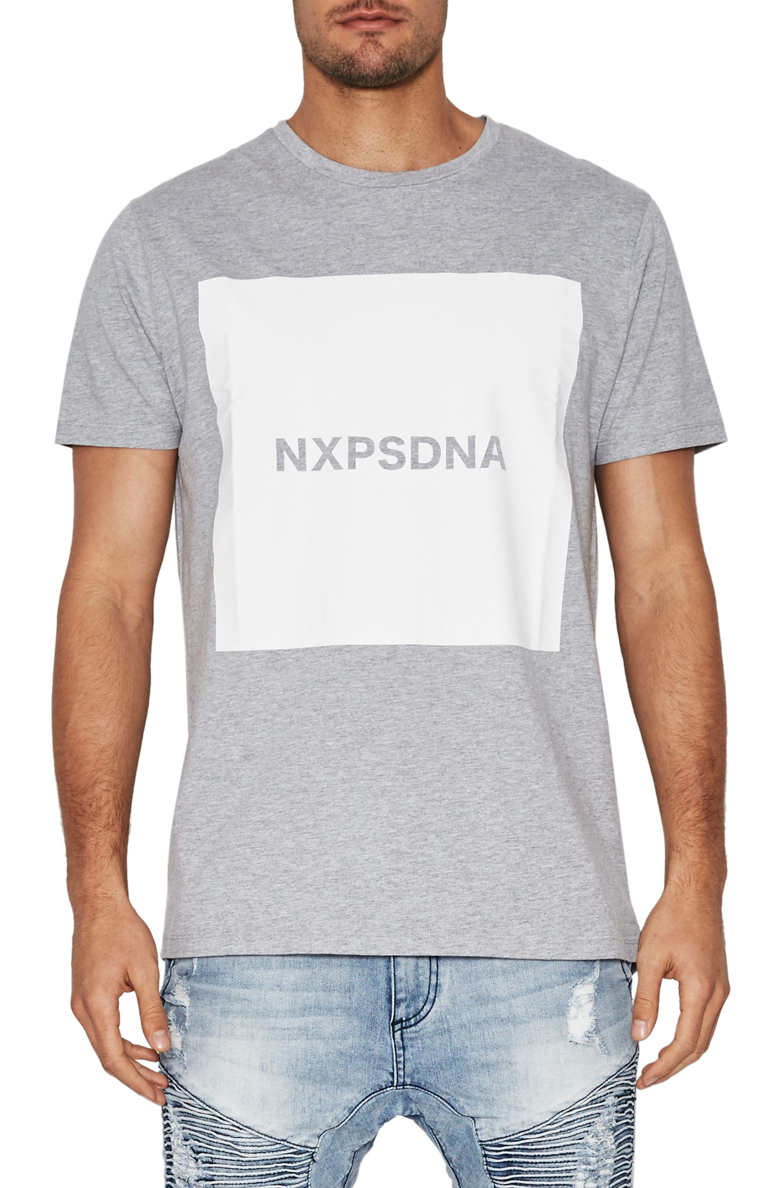 Islands Graphic T-Shirt,                         Main,                         color, Grey Marle