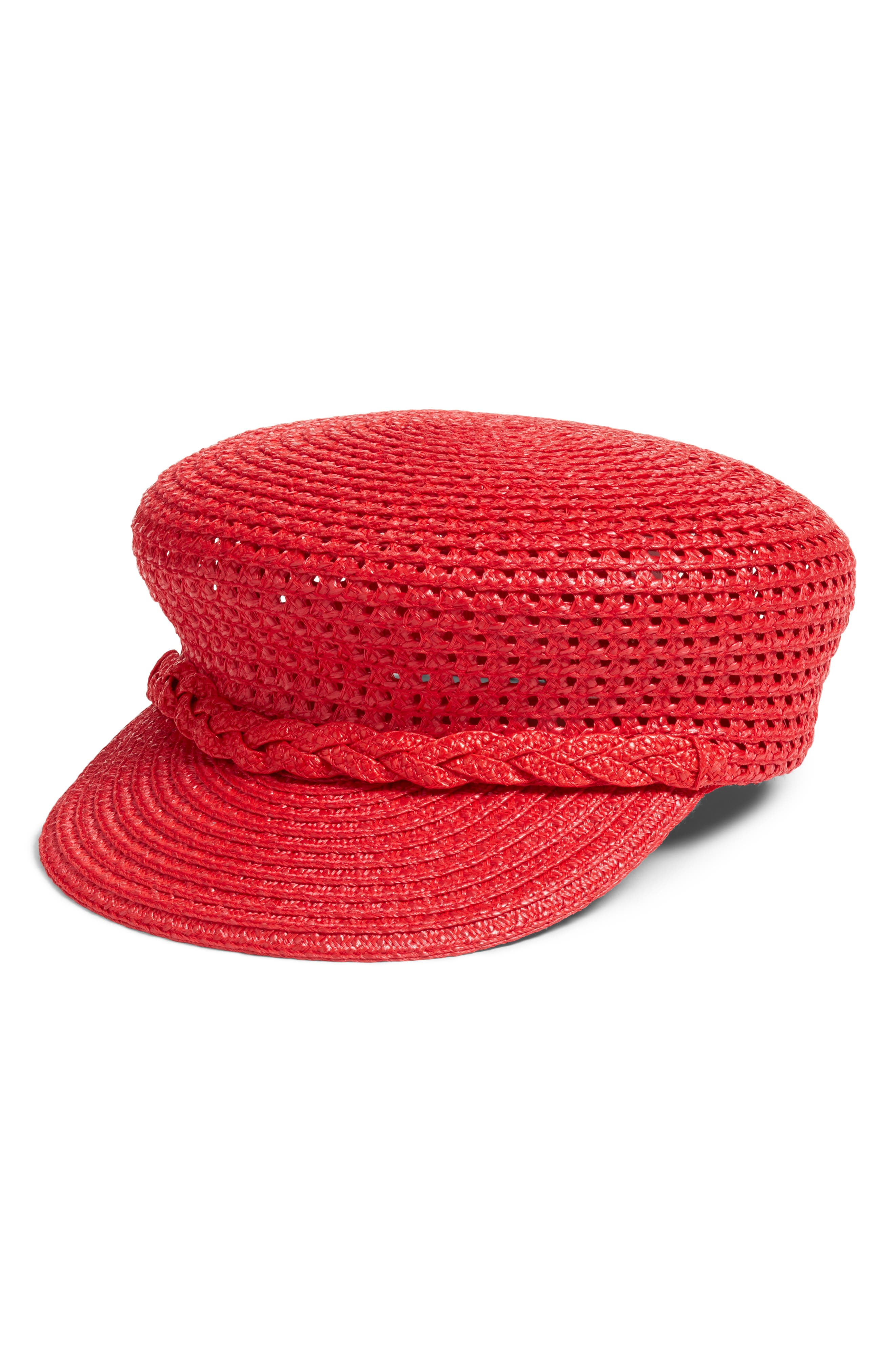 CAPITAN SQUISHEE CAP - RED