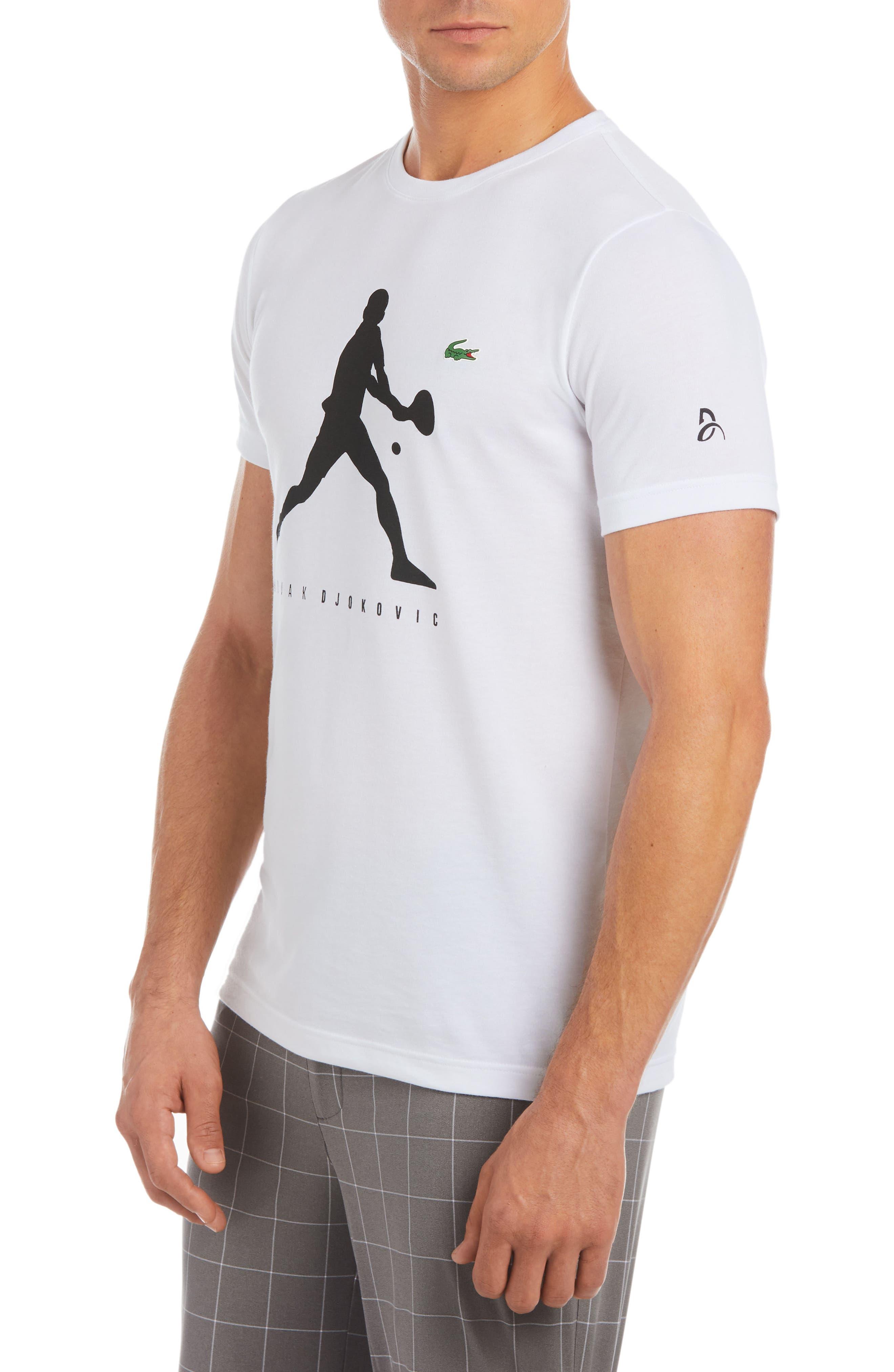 Extensible T-Shirt,                             Alternate thumbnail 2, color,                             White/ Black
