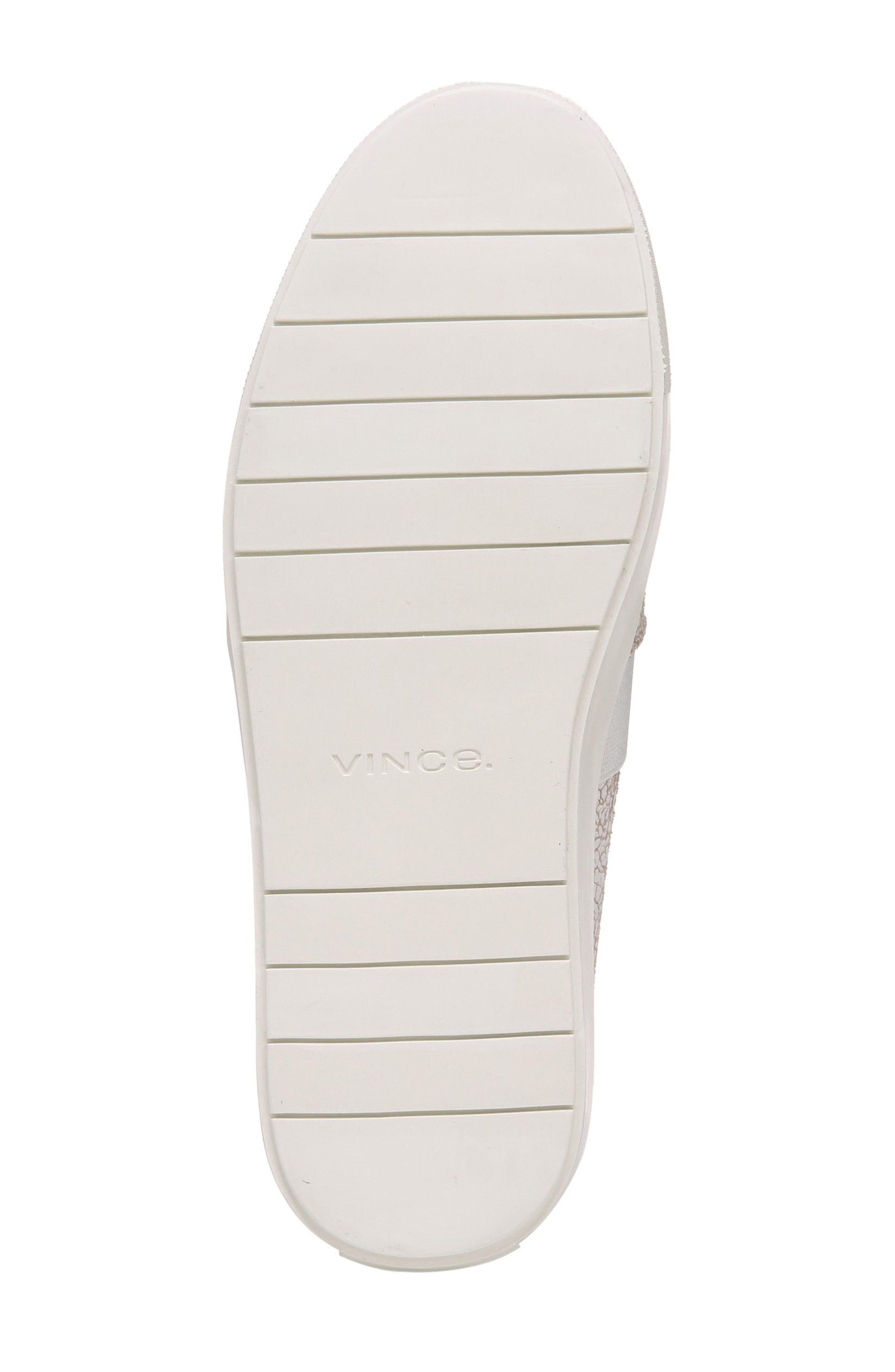 Alternate Image 6  - Vince 'Blair 12' Leather Slip-On Sneaker (Women)