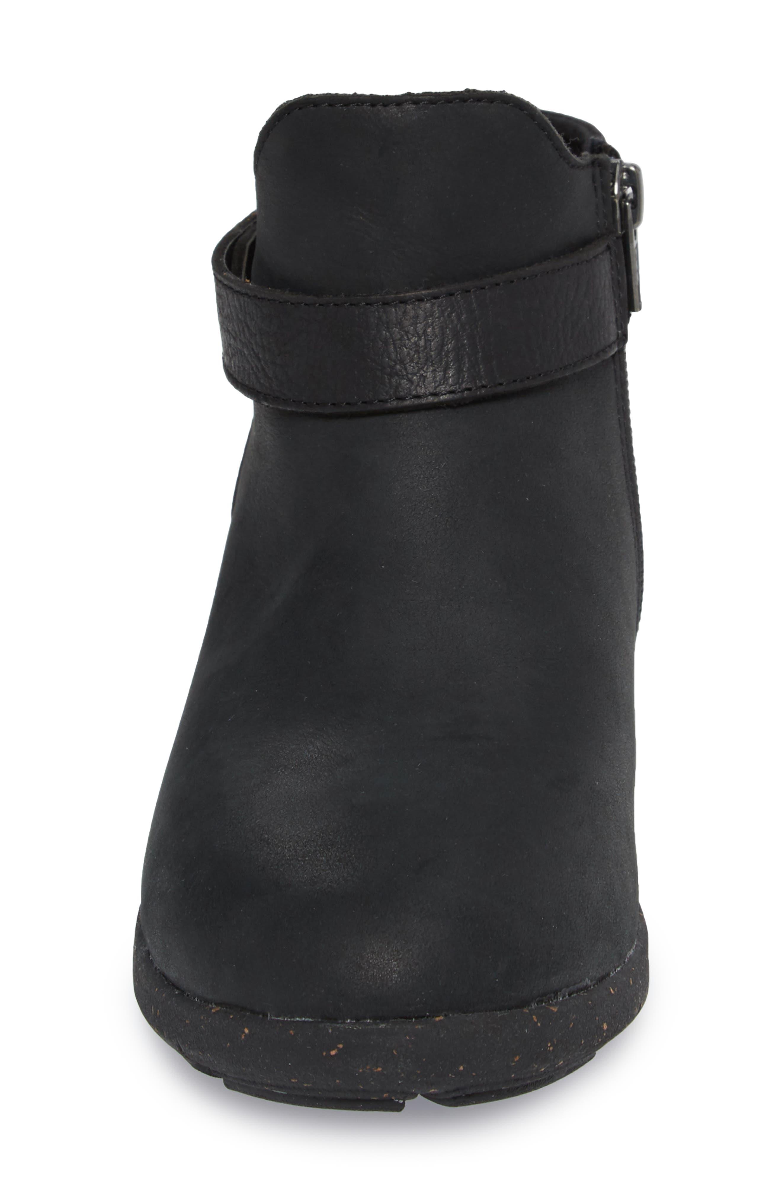 Ash Bootie,                             Alternate thumbnail 4, color,                             Black Leather