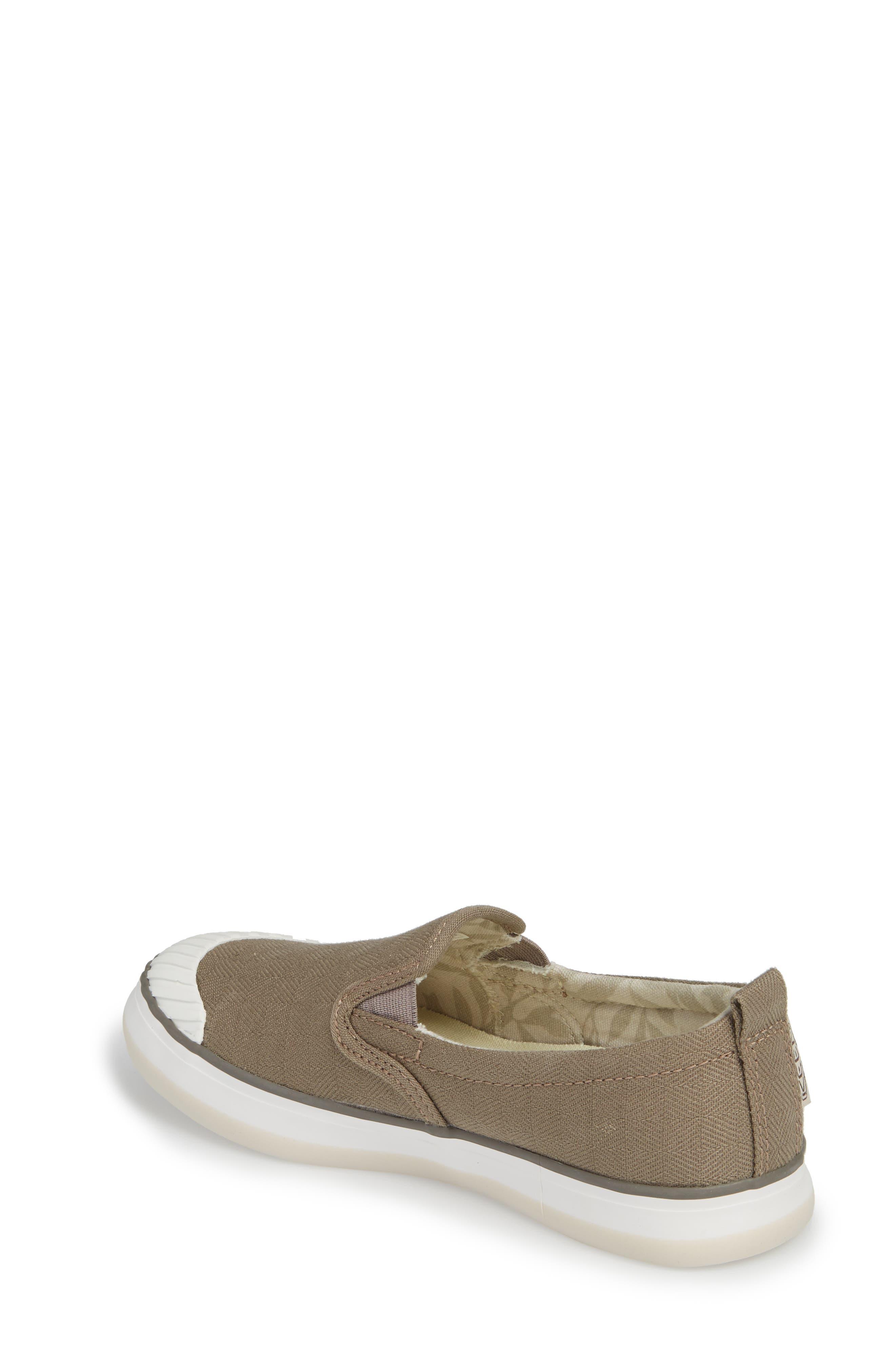 Elsa Slip-On Sneaker,                             Alternate thumbnail 2, color,                             Brindle