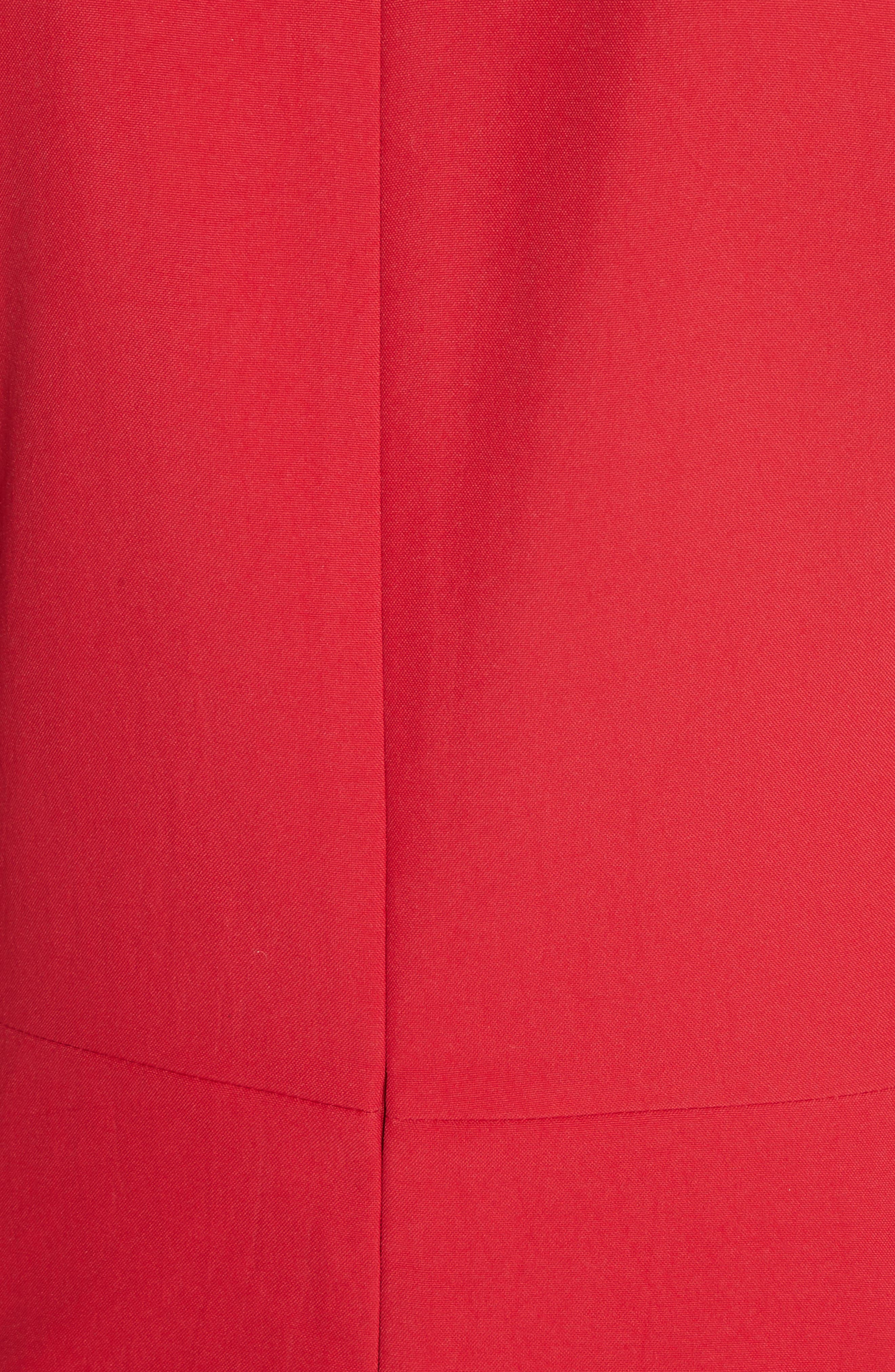 Alternate Image 5  - Carven Robe Courte Lace-Up Dress