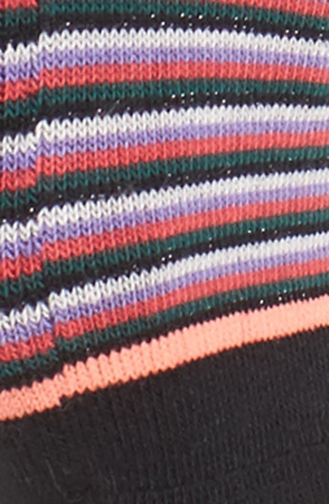 Summerland No-Show Socks,                             Alternate thumbnail 2, color,                             Black