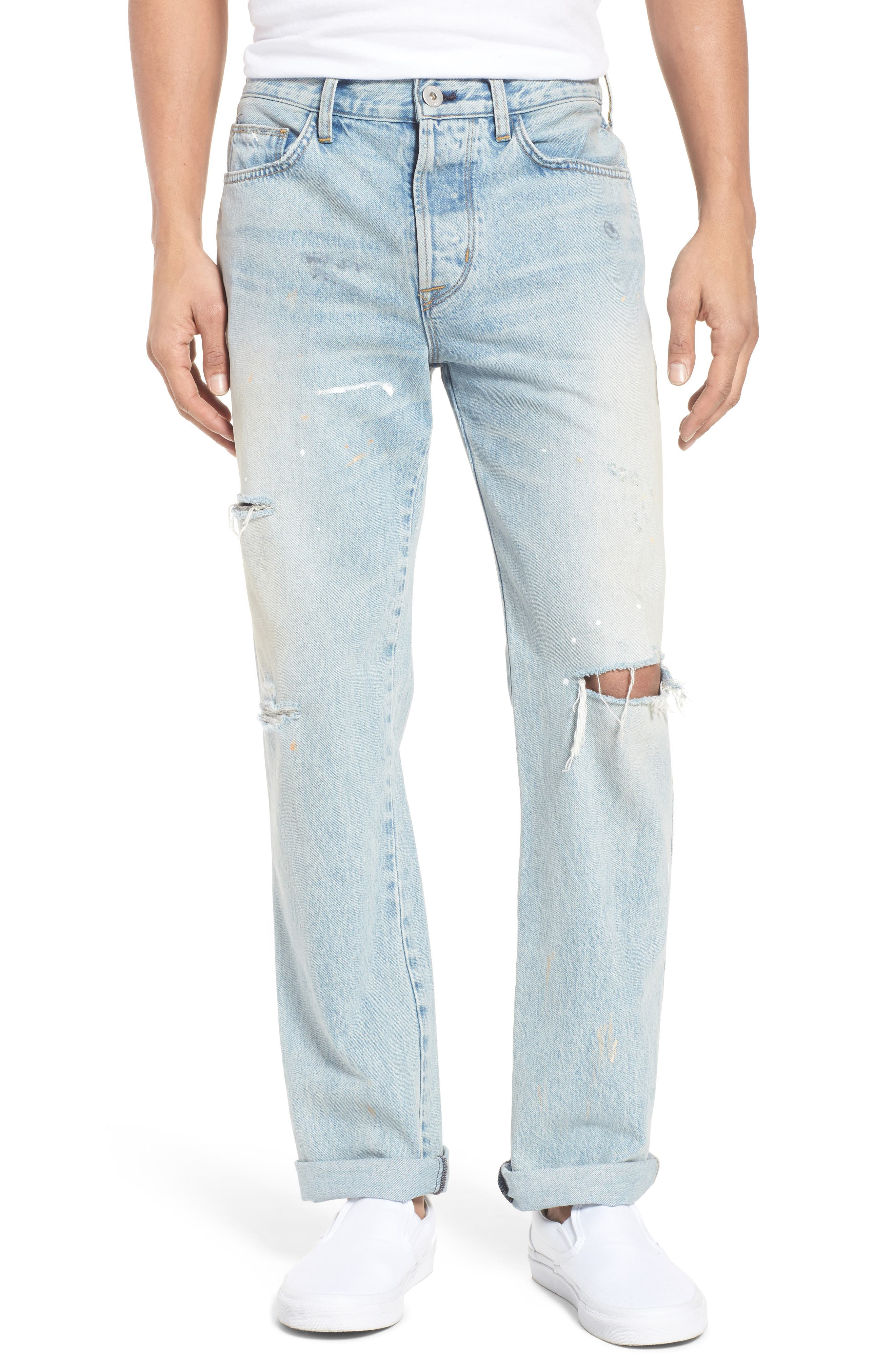 Hudson Jeans Dixon Straight Fit Jeans (Lone Wolf)
