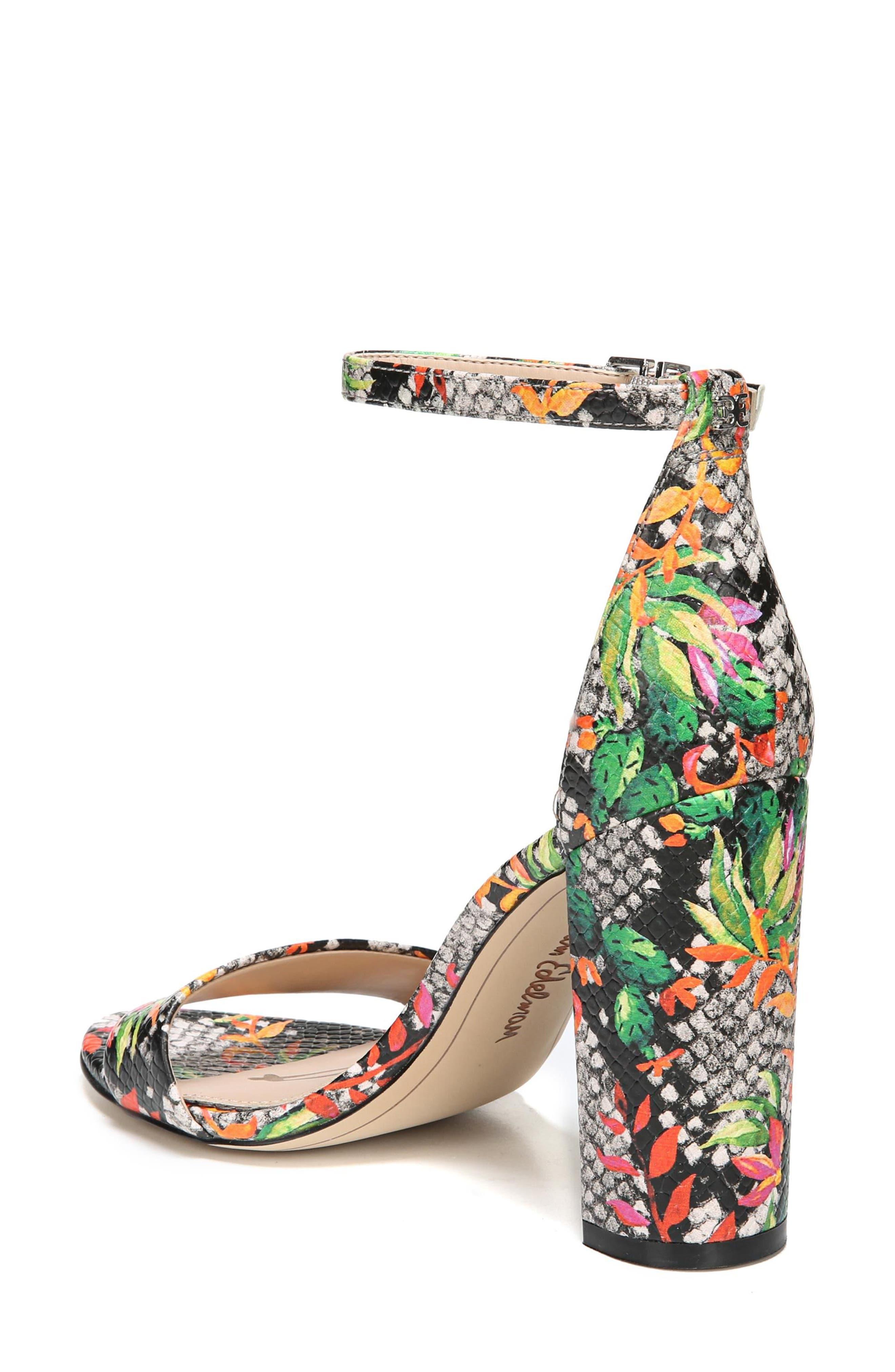 Yaro Ankle Strap Sandal,                             Alternate thumbnail 2, color,                             Bright Multi Print