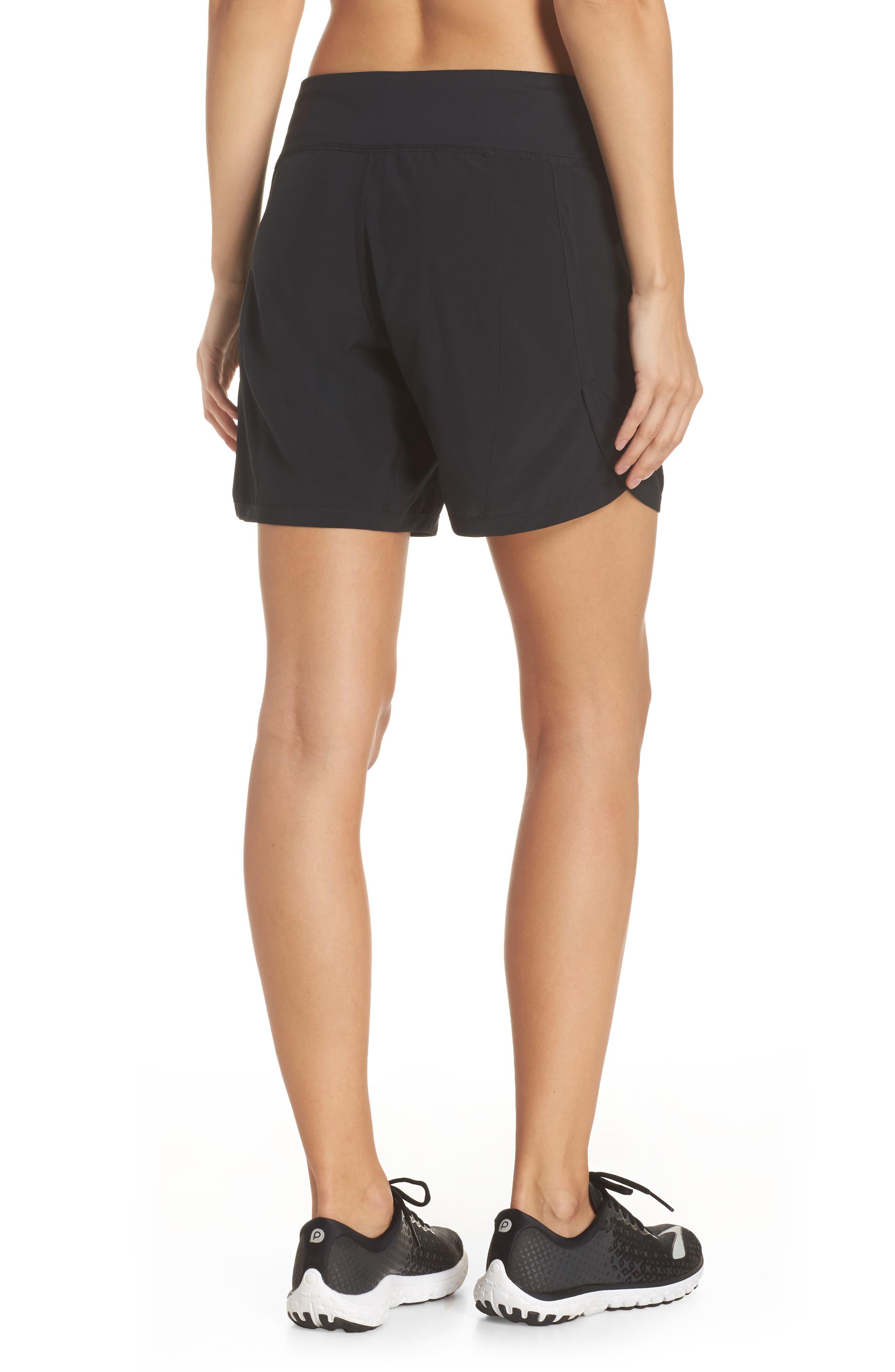 Chaser 7 Shorts,                             Alternate thumbnail 2, color,                             Black