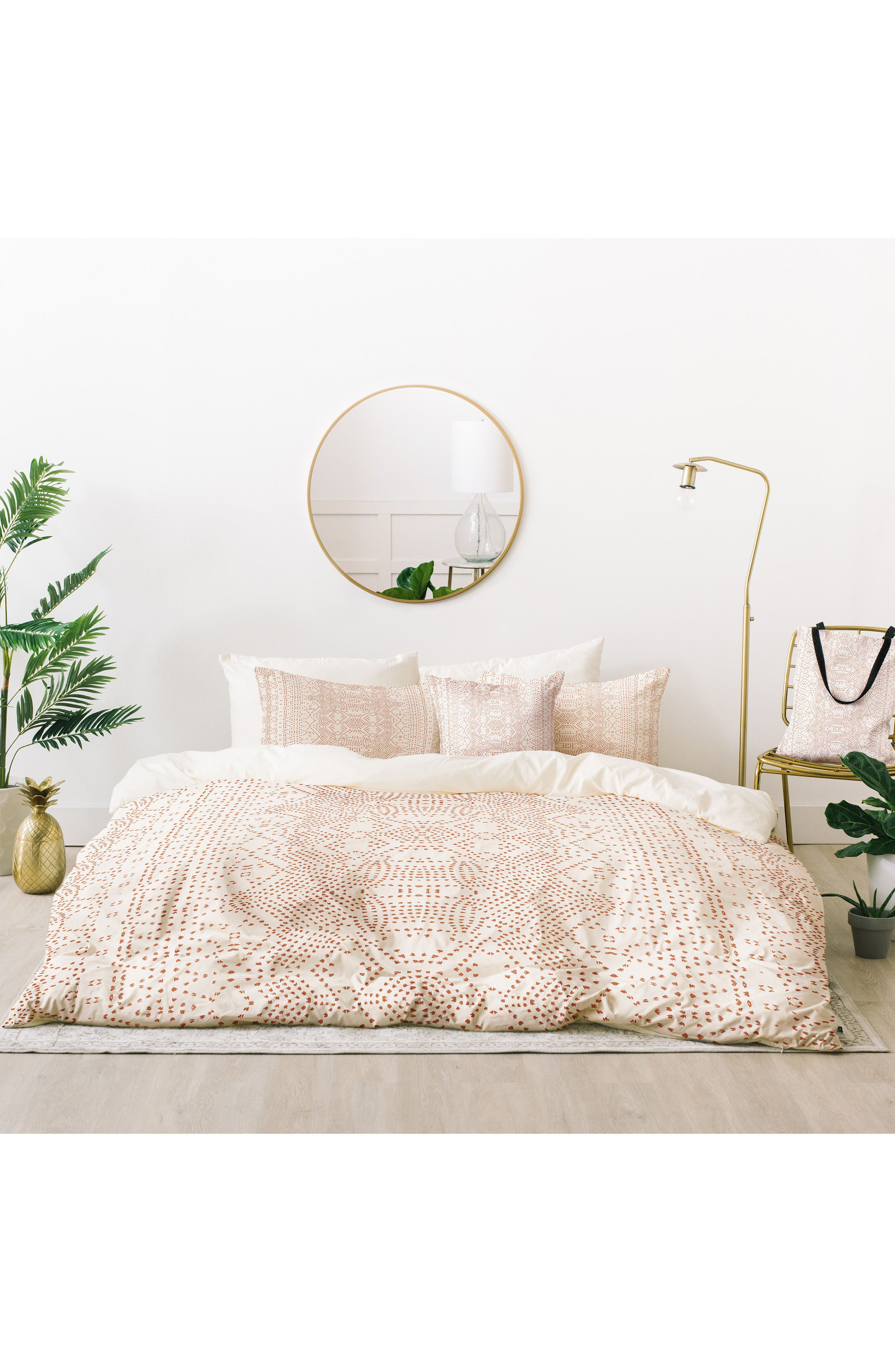 Deny Designs Holli Zollinger Marrakeshi Bed in a Bag Duvet Cover, Sham & Accent Pillow Set