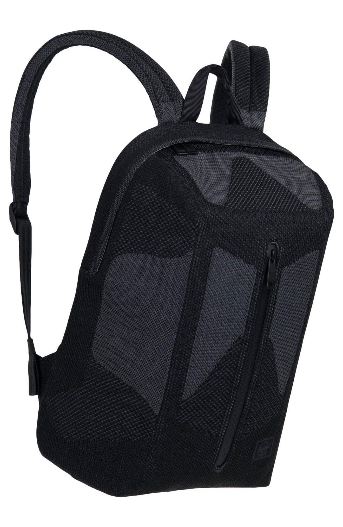 Apex Dayton Backpack,                             Alternate thumbnail 4, color,                             Black Beauty/ Dark Shadow