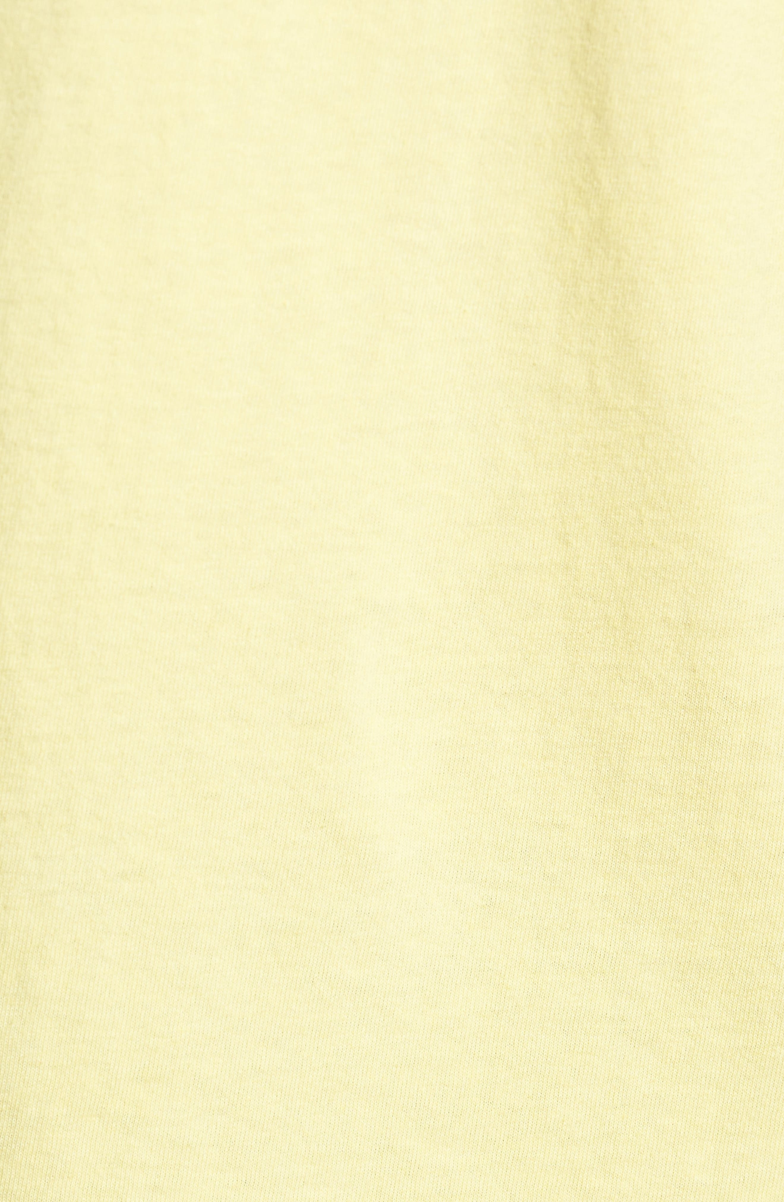 Logo Graphic T-Shirt,                             Alternate thumbnail 5, color,                             Dusty Lemon