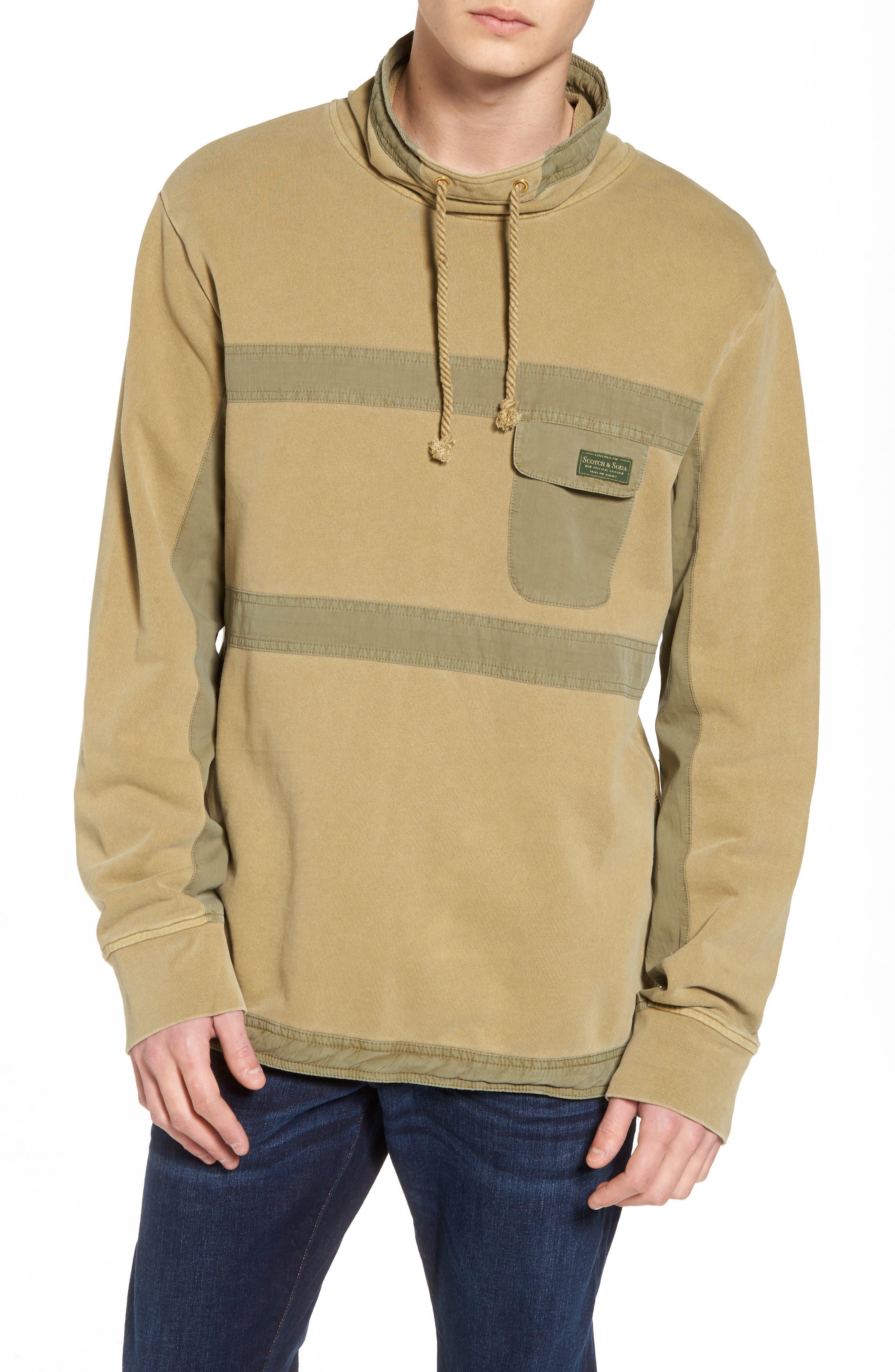 Garment Dyed Sweatshirt,                         Main,                         color, Combo A