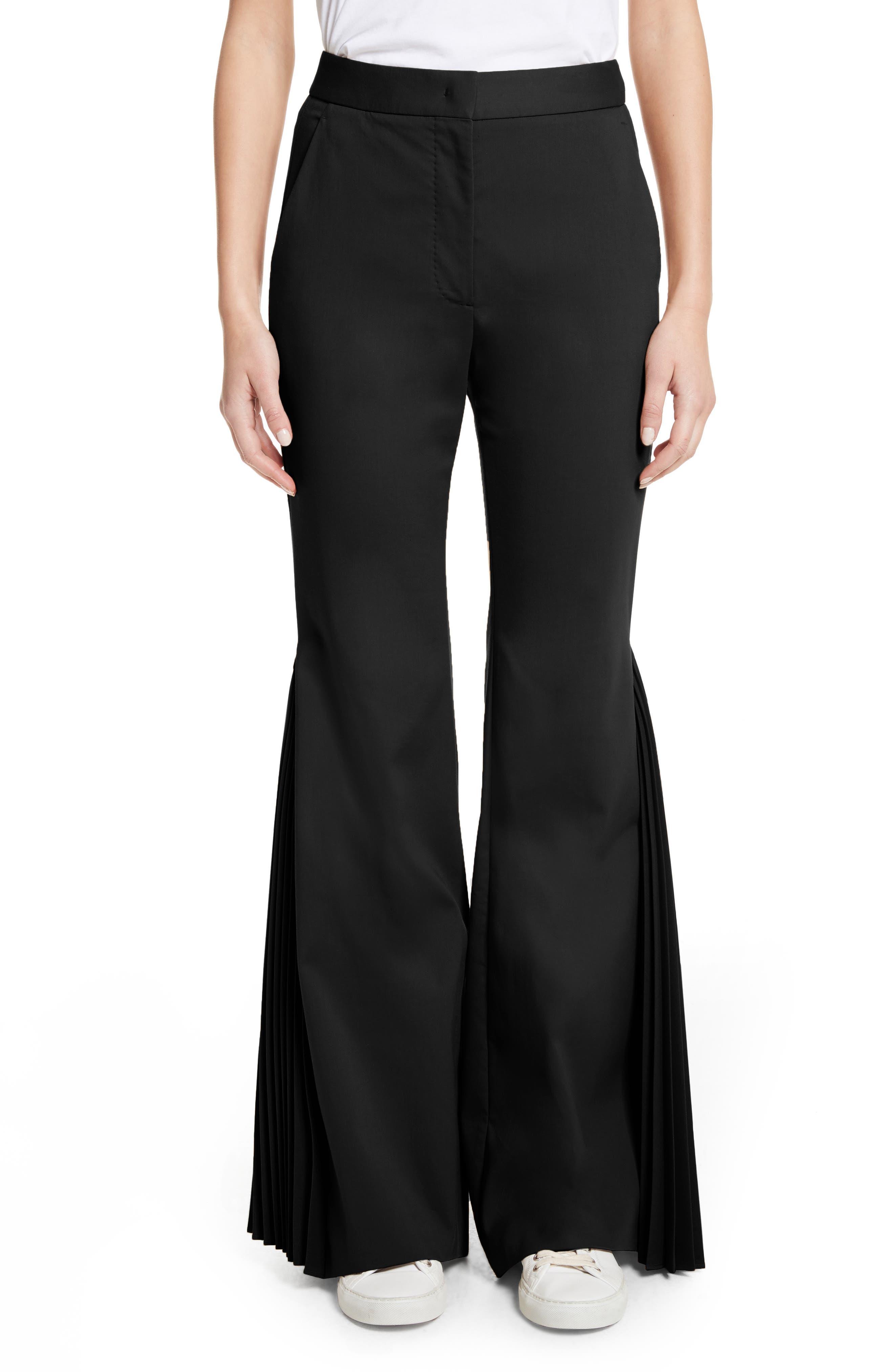 Sara Battaglia Side Pleat Pants