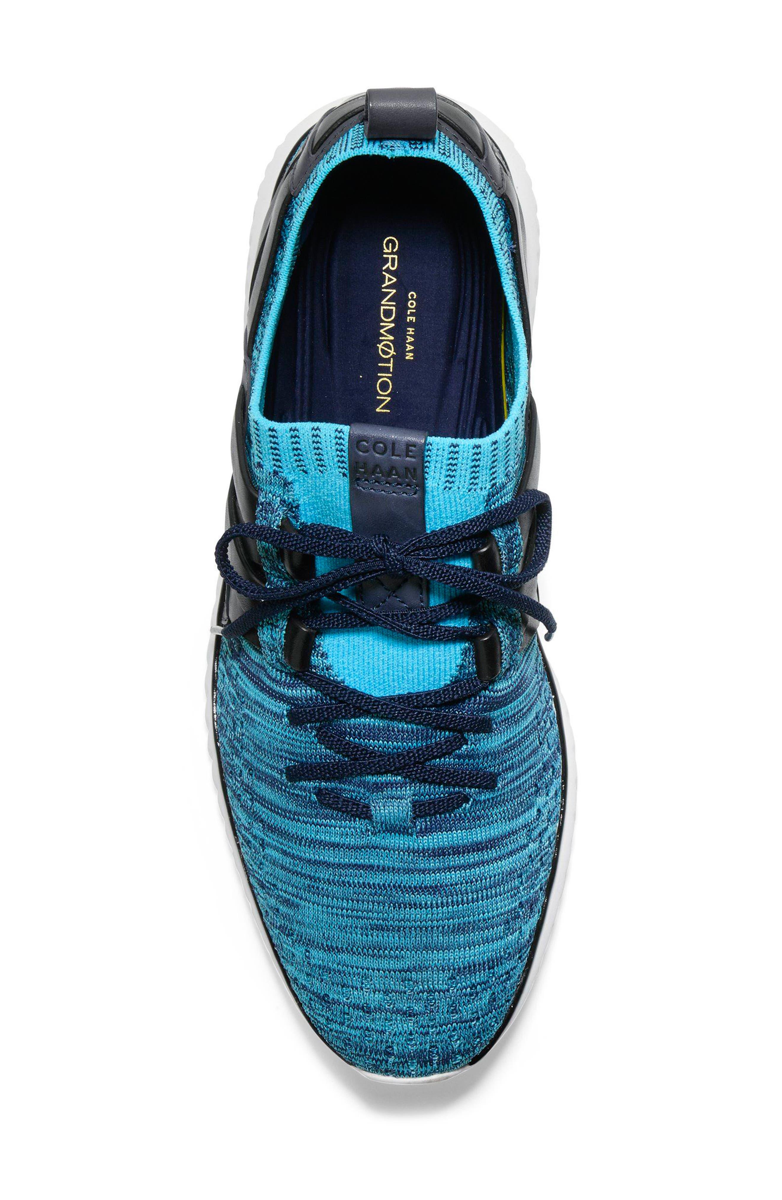GrandMøtion Stitchlite<sup>™</sup> Woven Sneaker,                             Alternate thumbnail 5, color,                             Marine Blue