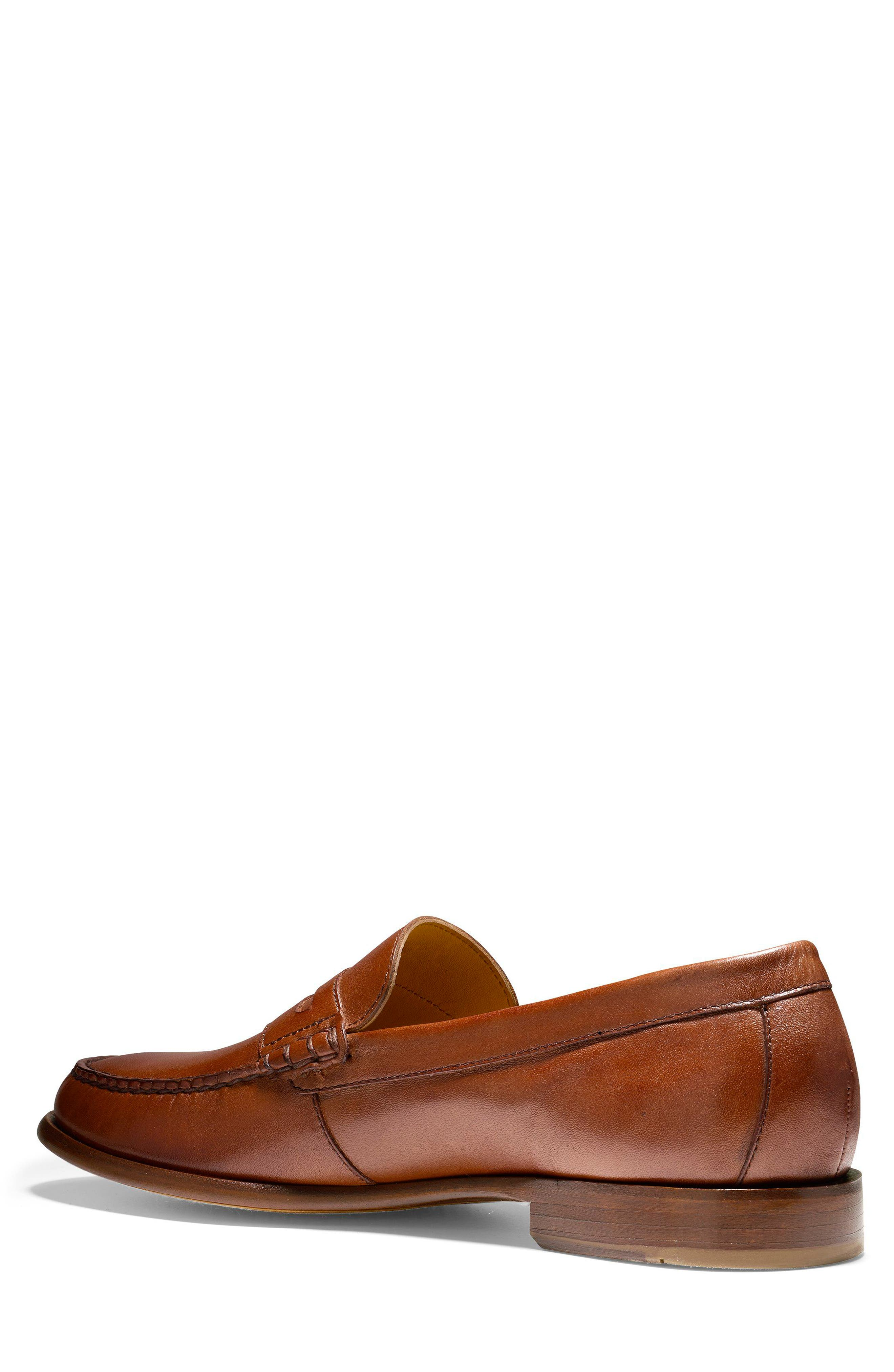 Pinch Penny Loafer,                             Alternate thumbnail 2, color,                             British Tan Leather