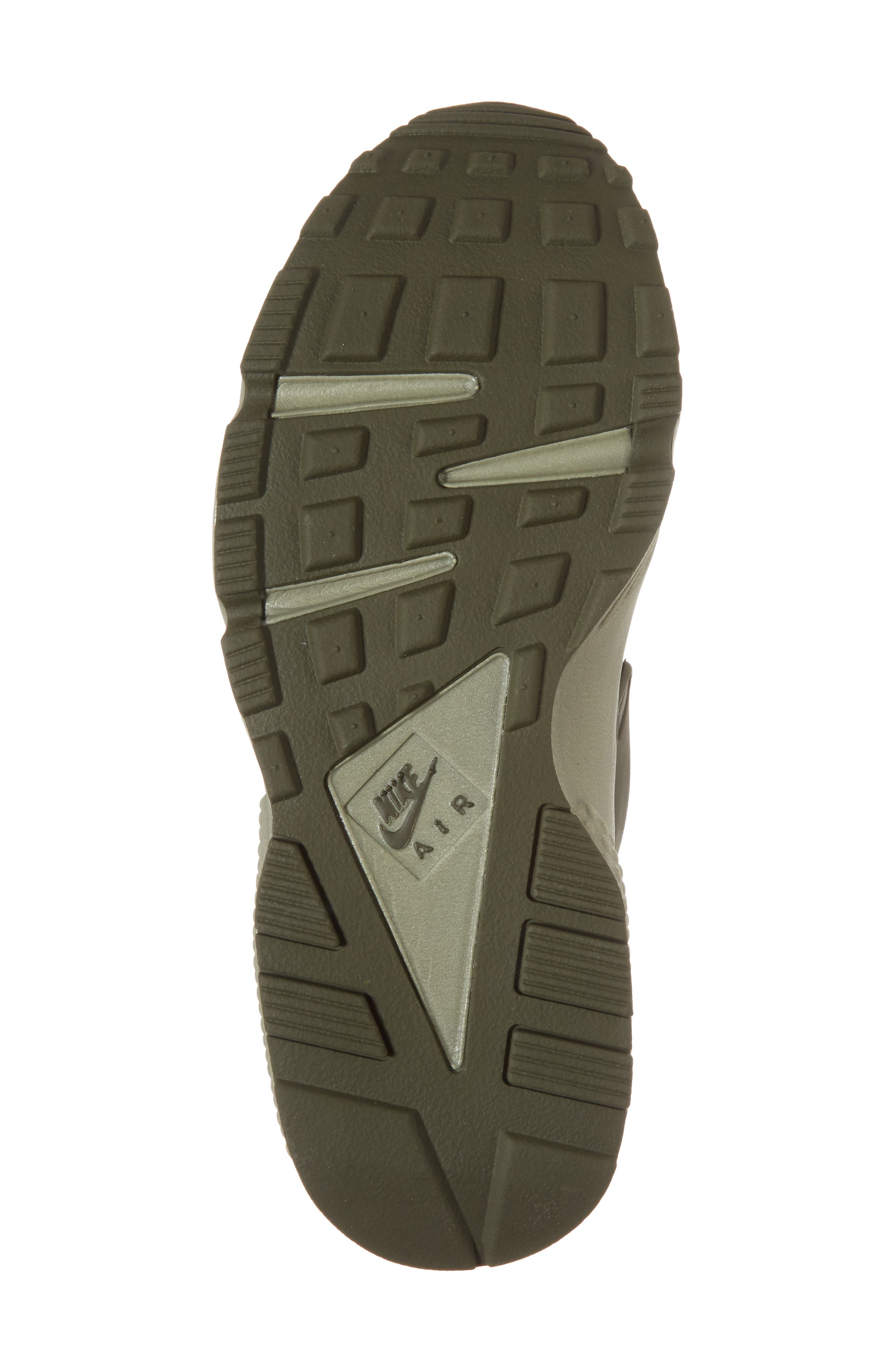 'Air Huarache' Sneaker,                             Alternate thumbnail 6, color,                             Cargo Khaki/ Cargo Khaki
