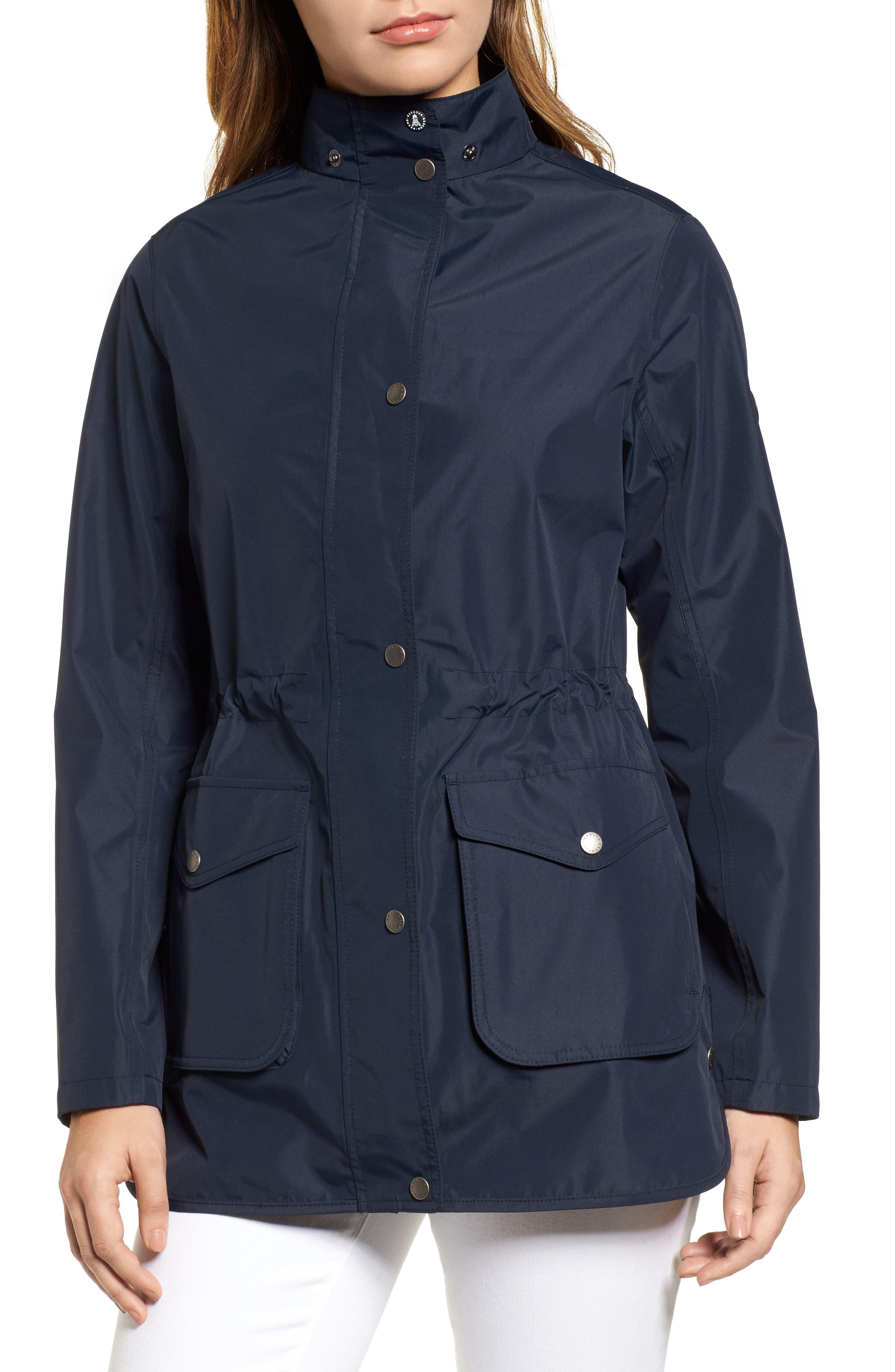Studland Waterproof Jacket,                             Alternate thumbnail 4, color,                             Navy