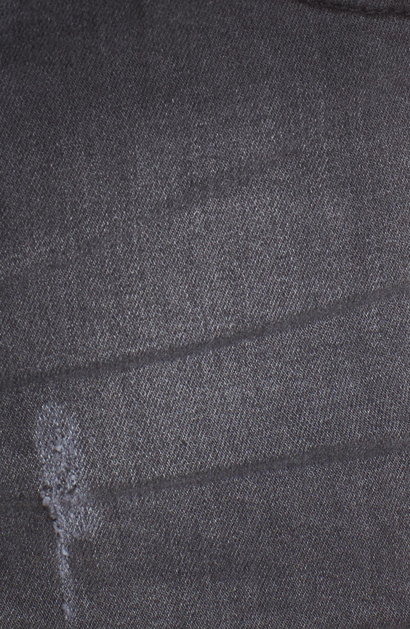 Alternate Image 5  - Lira Clothing Rachel High Waisted Denim Shorts