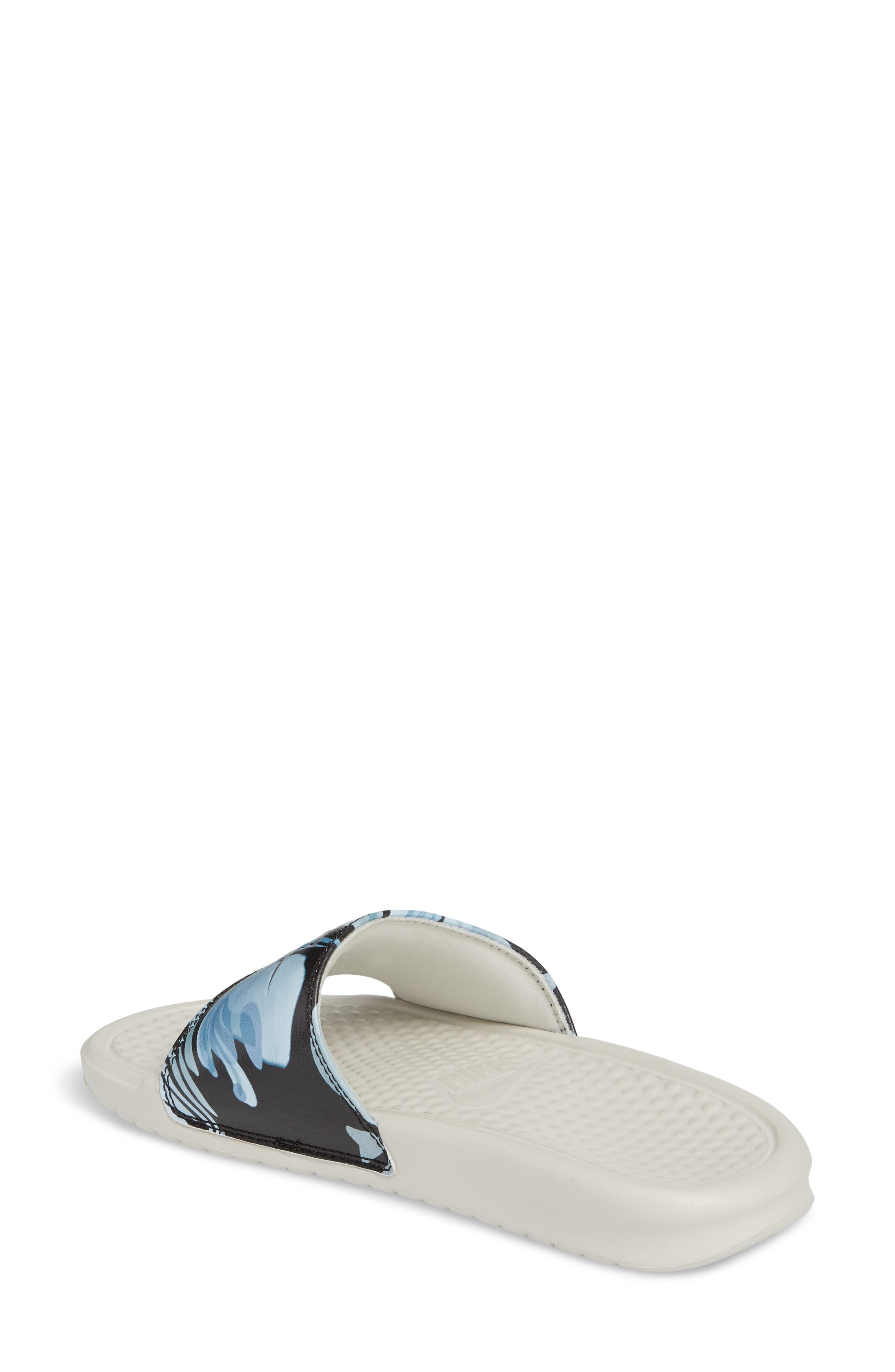 Alternate Image 2  - Nike 'Benassi - Just Do It' Print Sandal (Women)