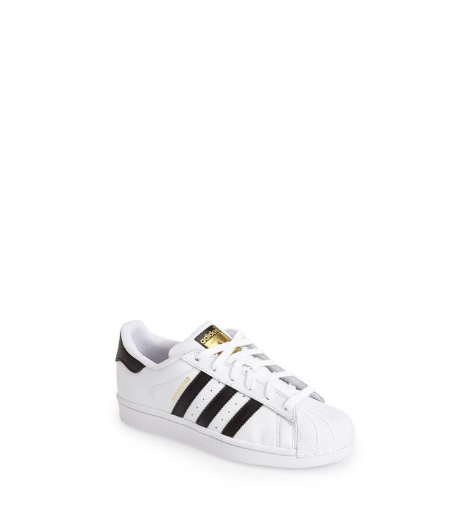 adidas Superstar UP Strap Women's Black Casual Lace Up Sneaker