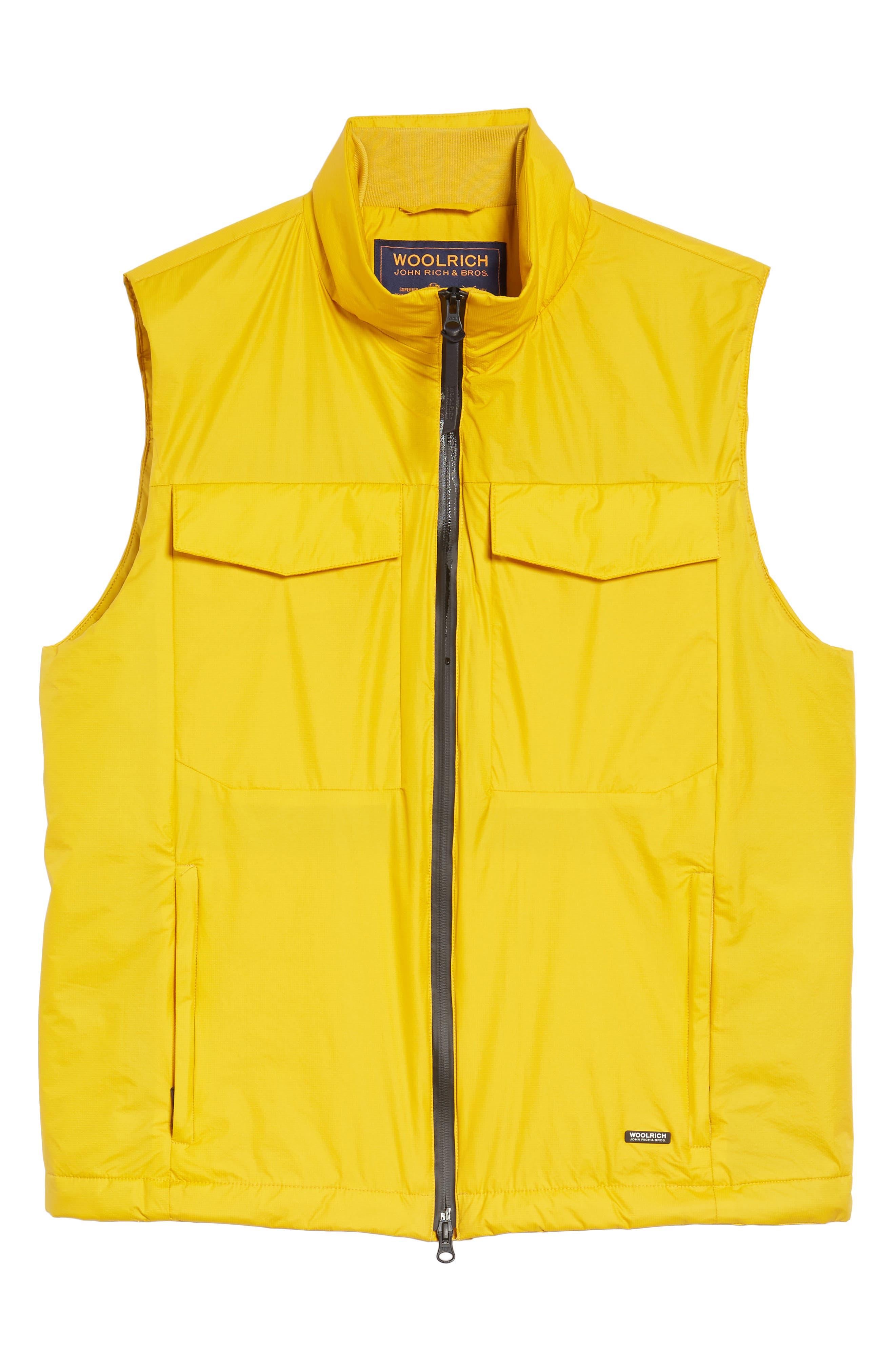 & Bros. Bering Vest,                             Alternate thumbnail 6, color,                             Golden Spice