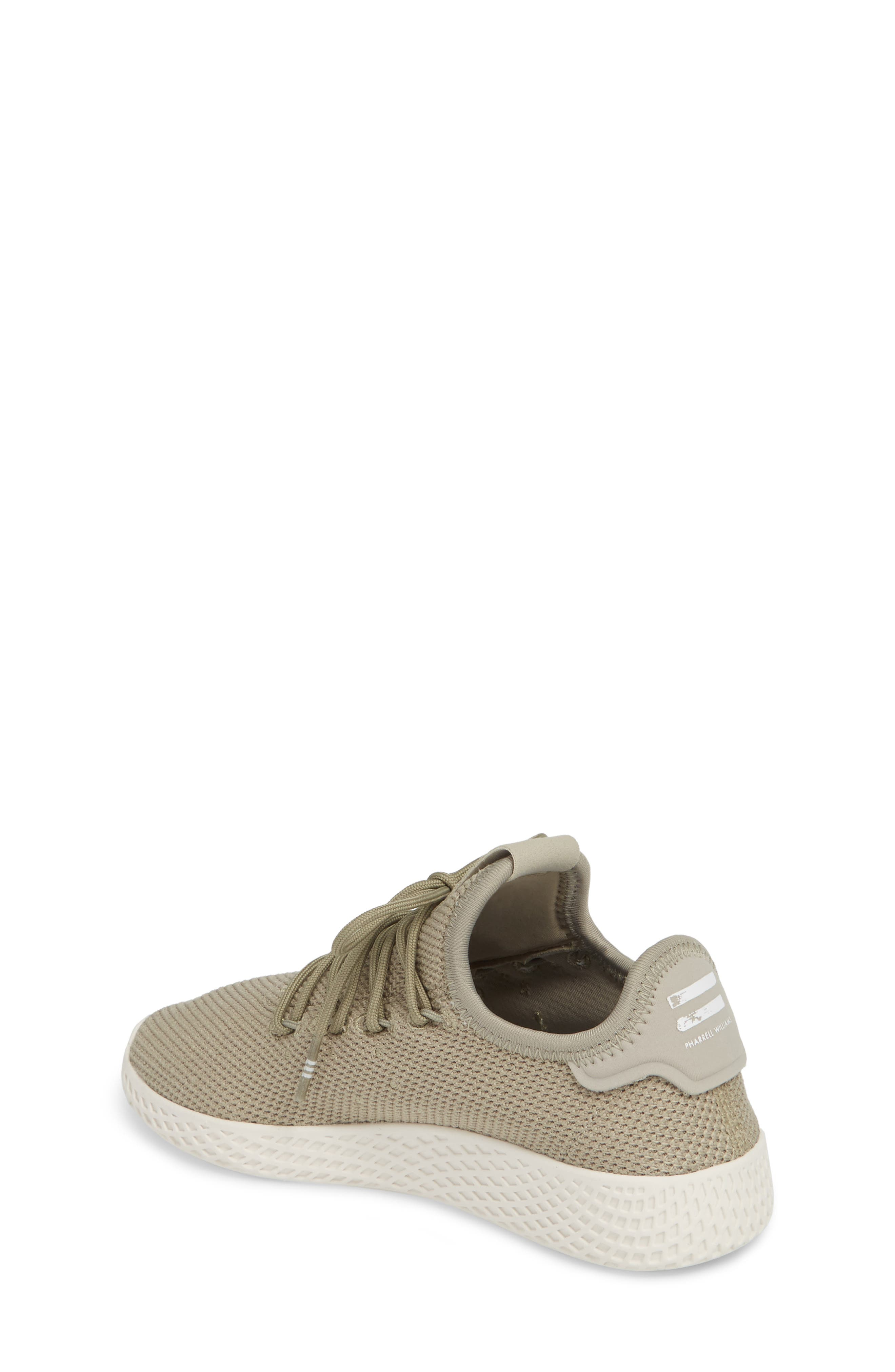 Pharrell Williams Tennis Hu Sock Sneaker,                             Alternate thumbnail 2, color,                             Tech Beige/ Chalk White