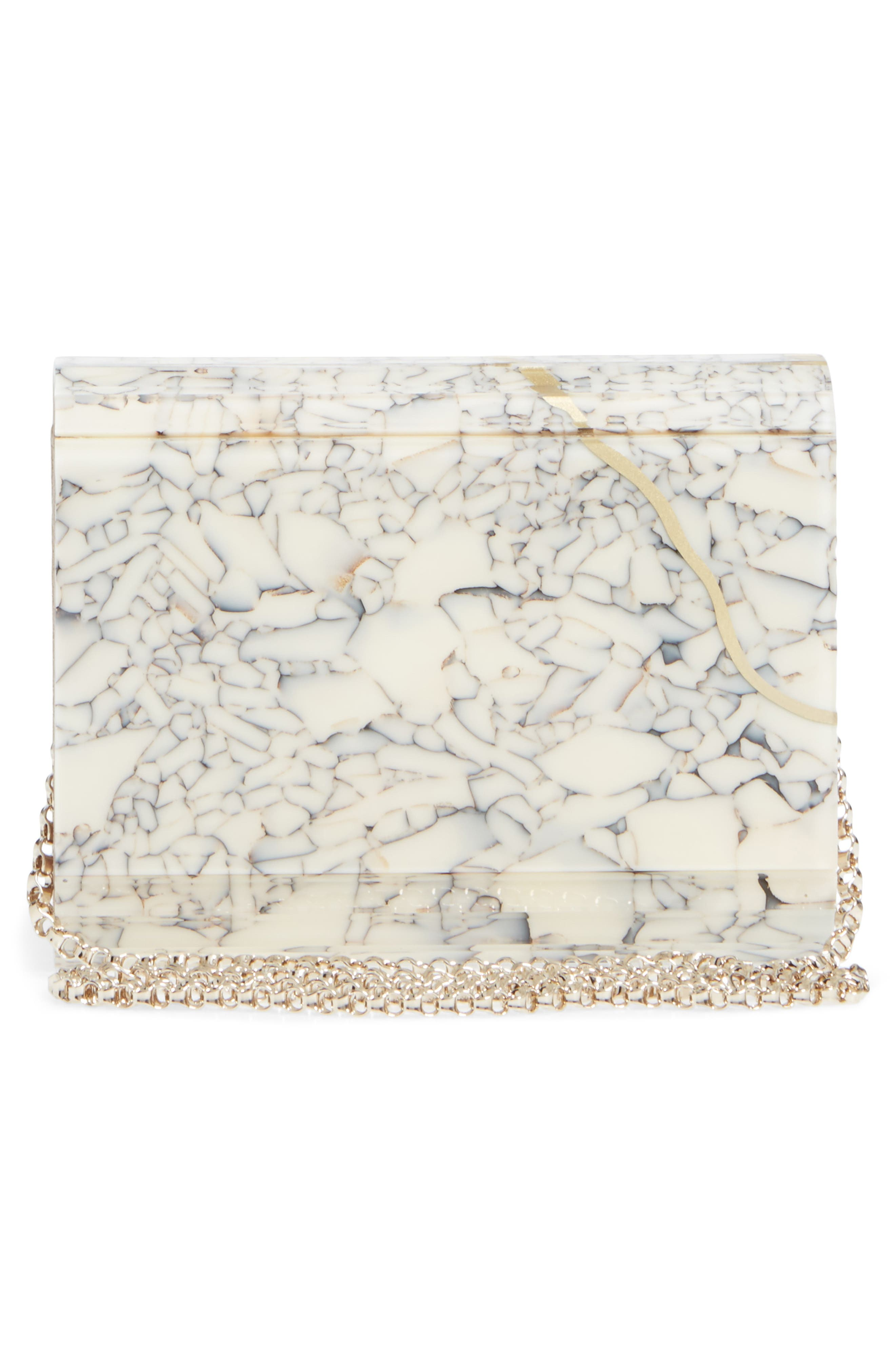 Candy Clutch,                             Alternate thumbnail 3, color,                             Marble