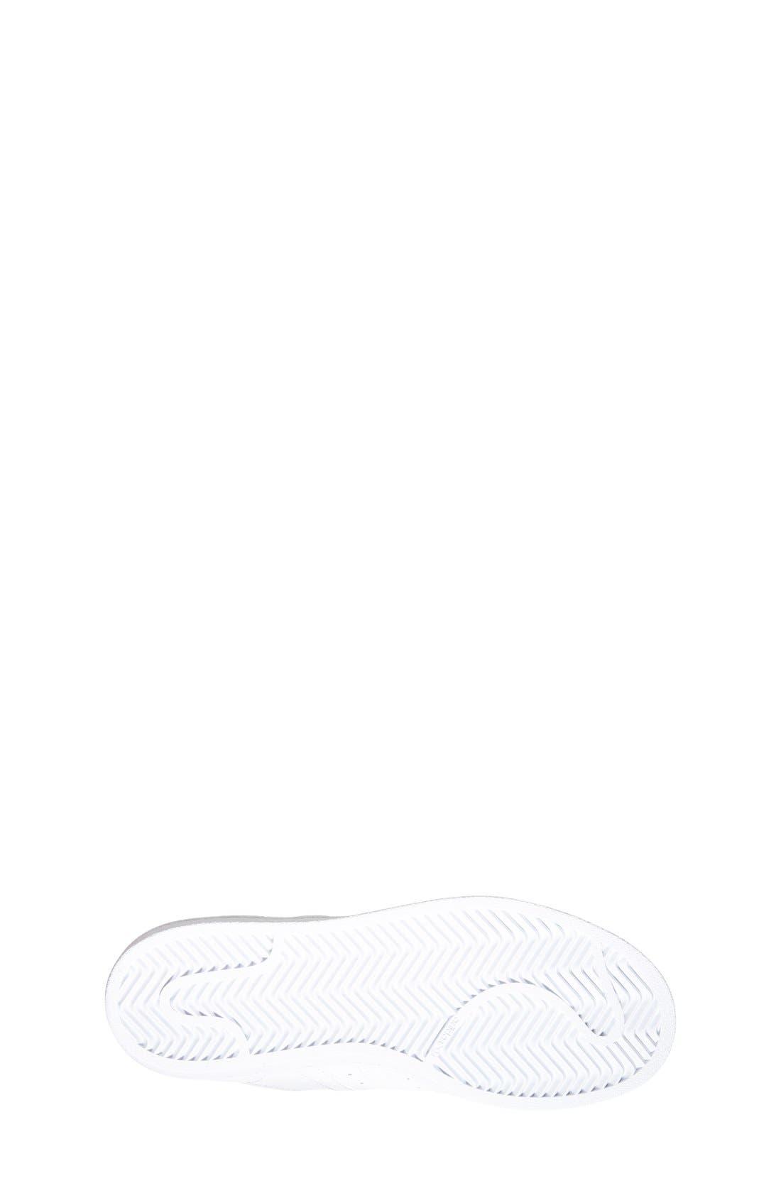 'Superstar 2' Sneaker,                             Alternate thumbnail 4, color,                             White/ White