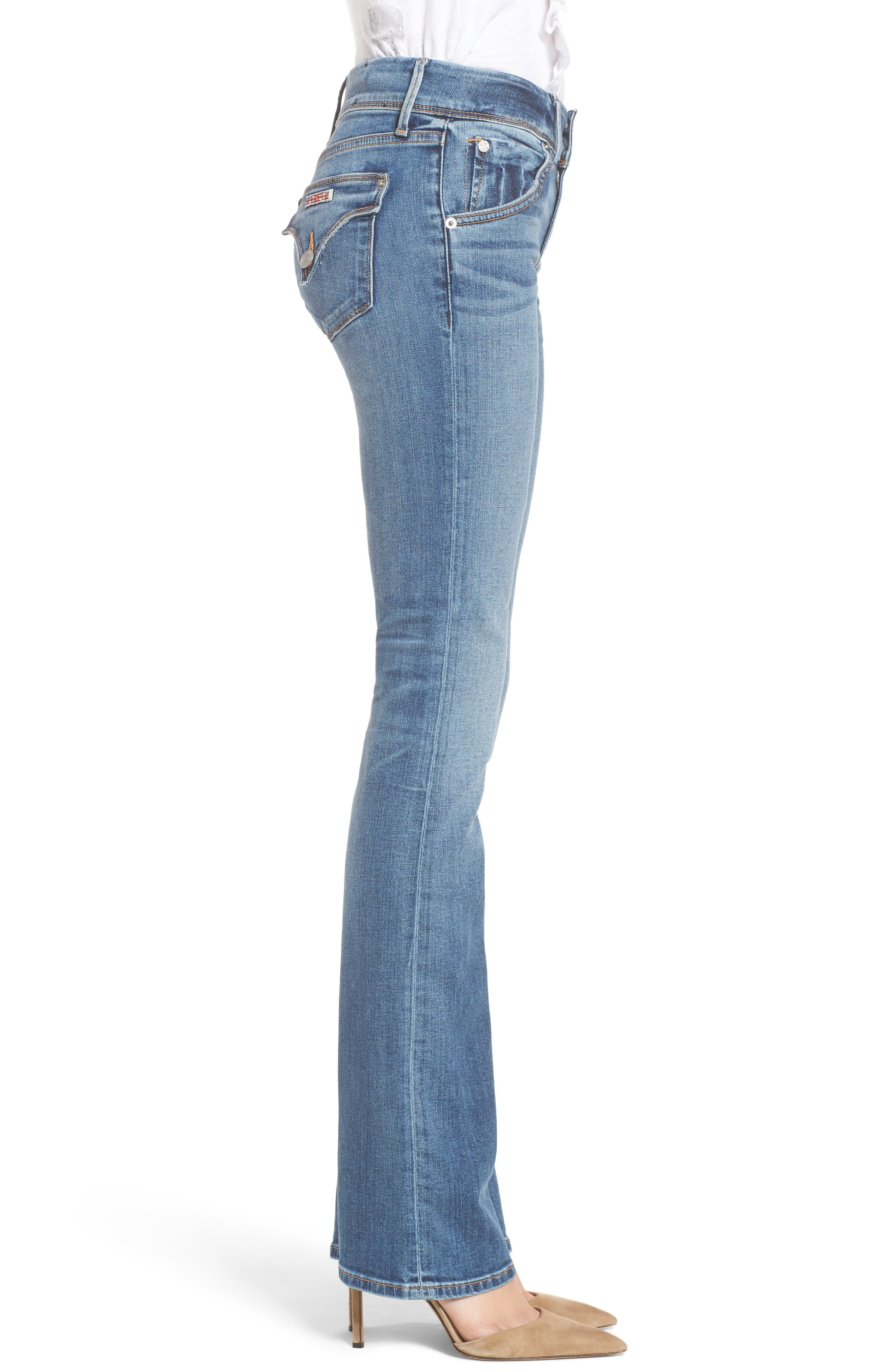Beth Baby Bootcut Jeans,                             Alternate thumbnail 3, color,                             Impala