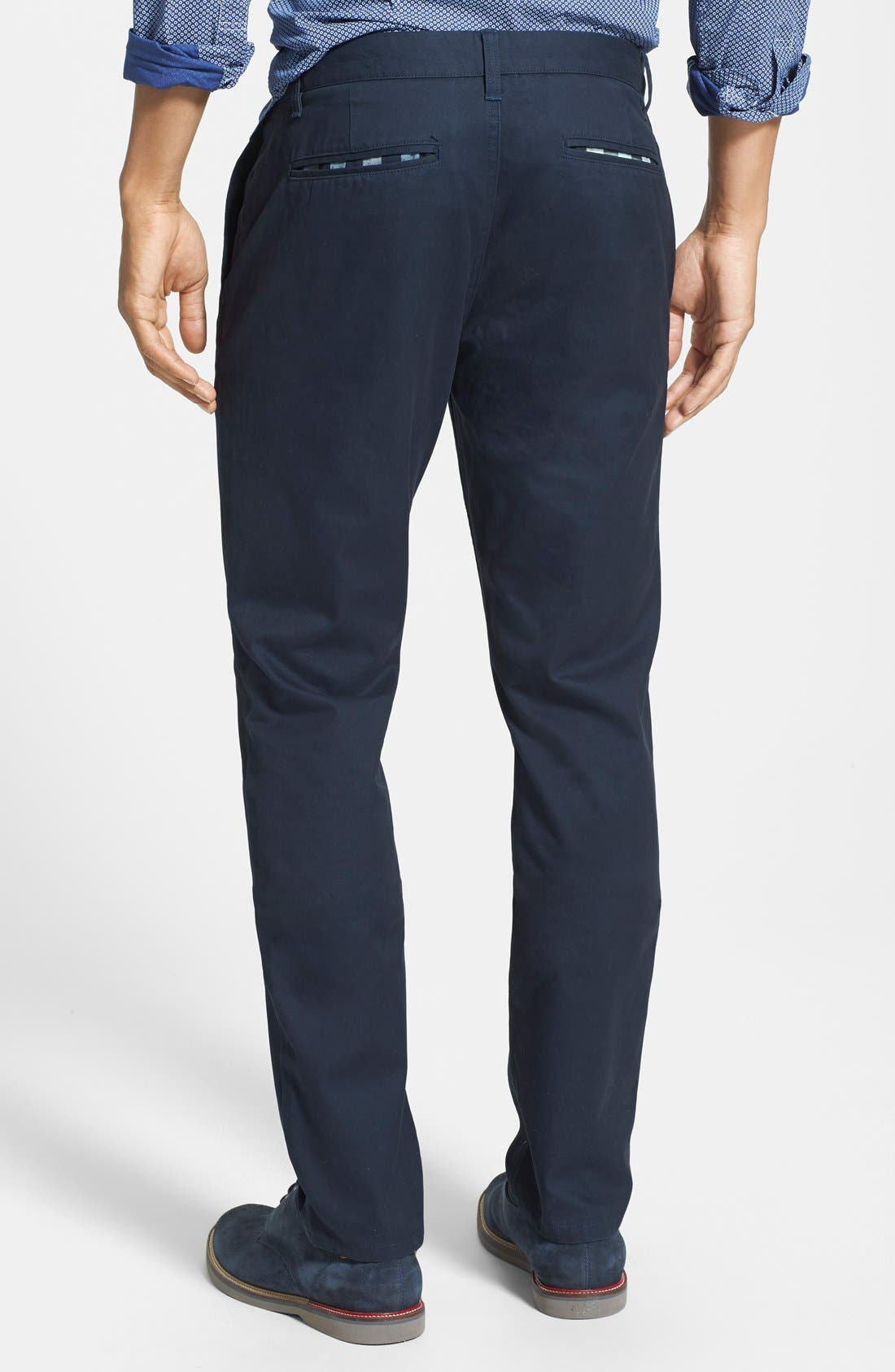 Alternate Image 2  - Bonobos Tailored Fit Washed Chinos