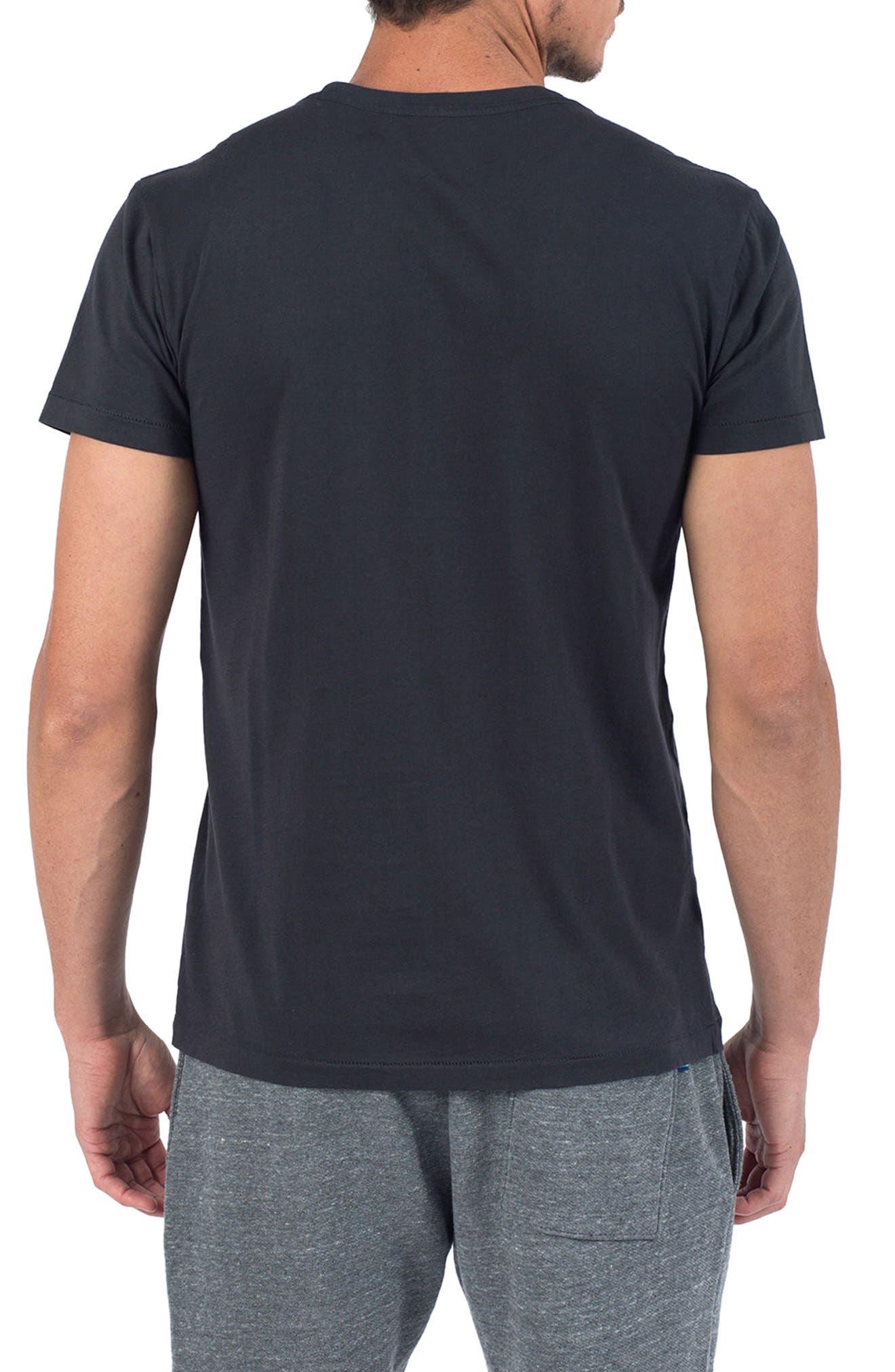 Rum Away T-Shirt,                             Alternate thumbnail 2, color,                             V Black