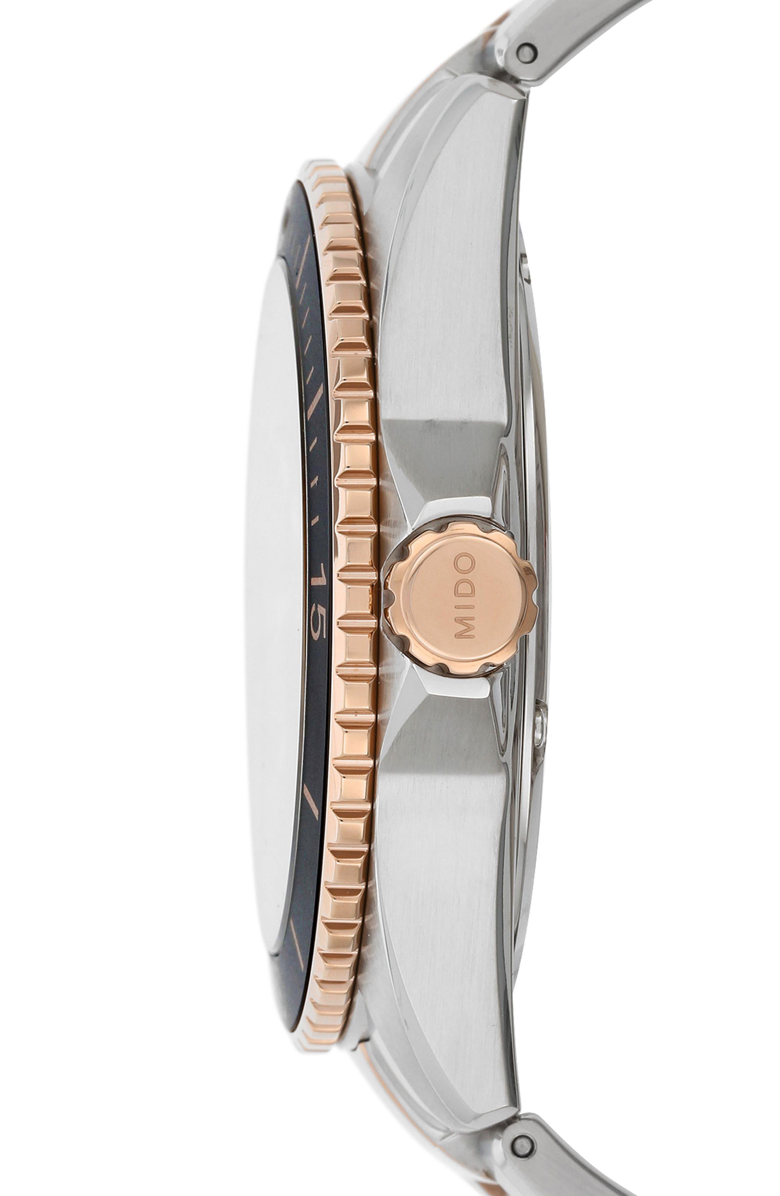Alternate Image 3  - Mido Ocean Star Diver Bracelet Watch, 42mm