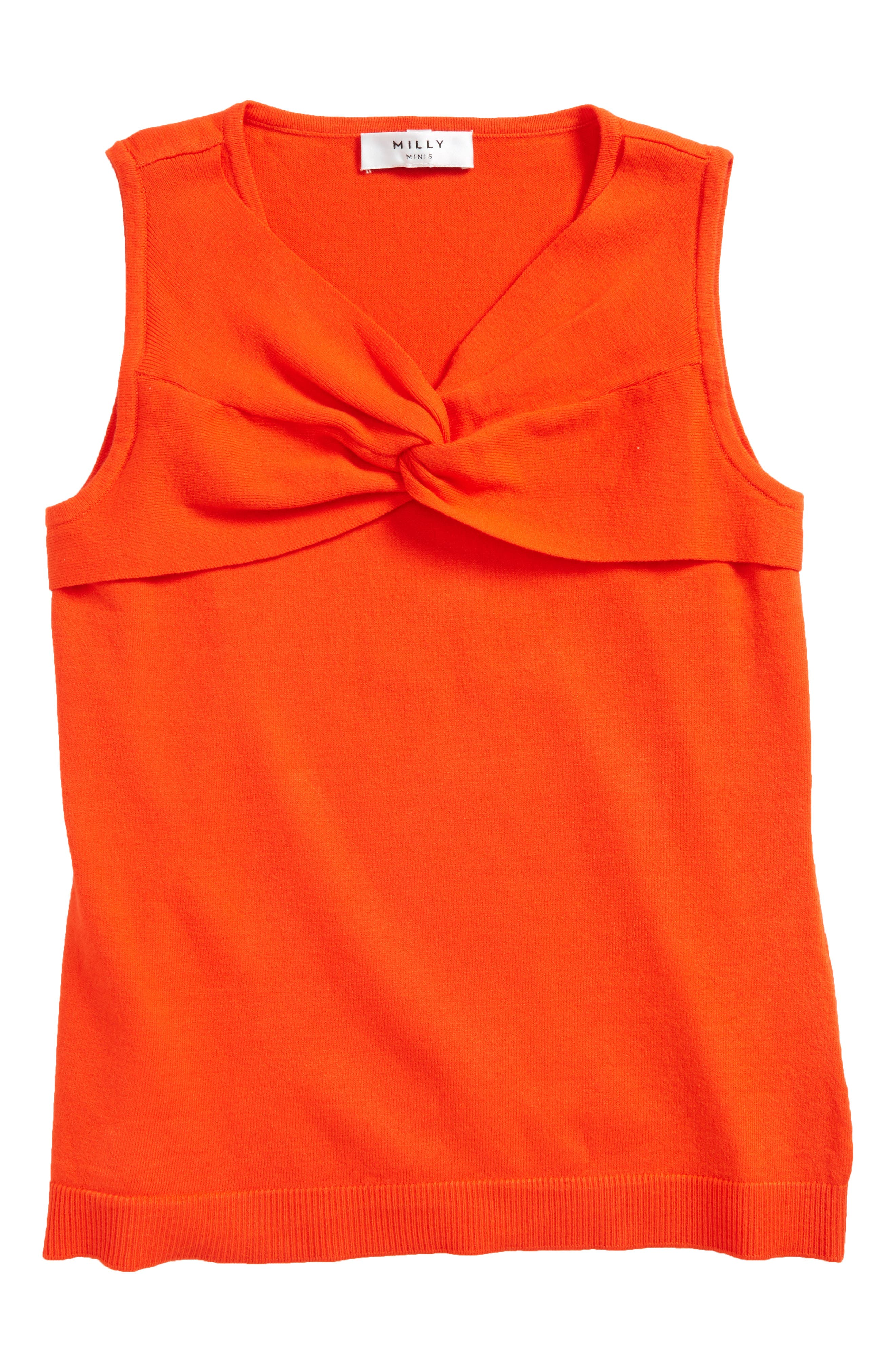 Milly Minis Twist Front Top (Big Girls)