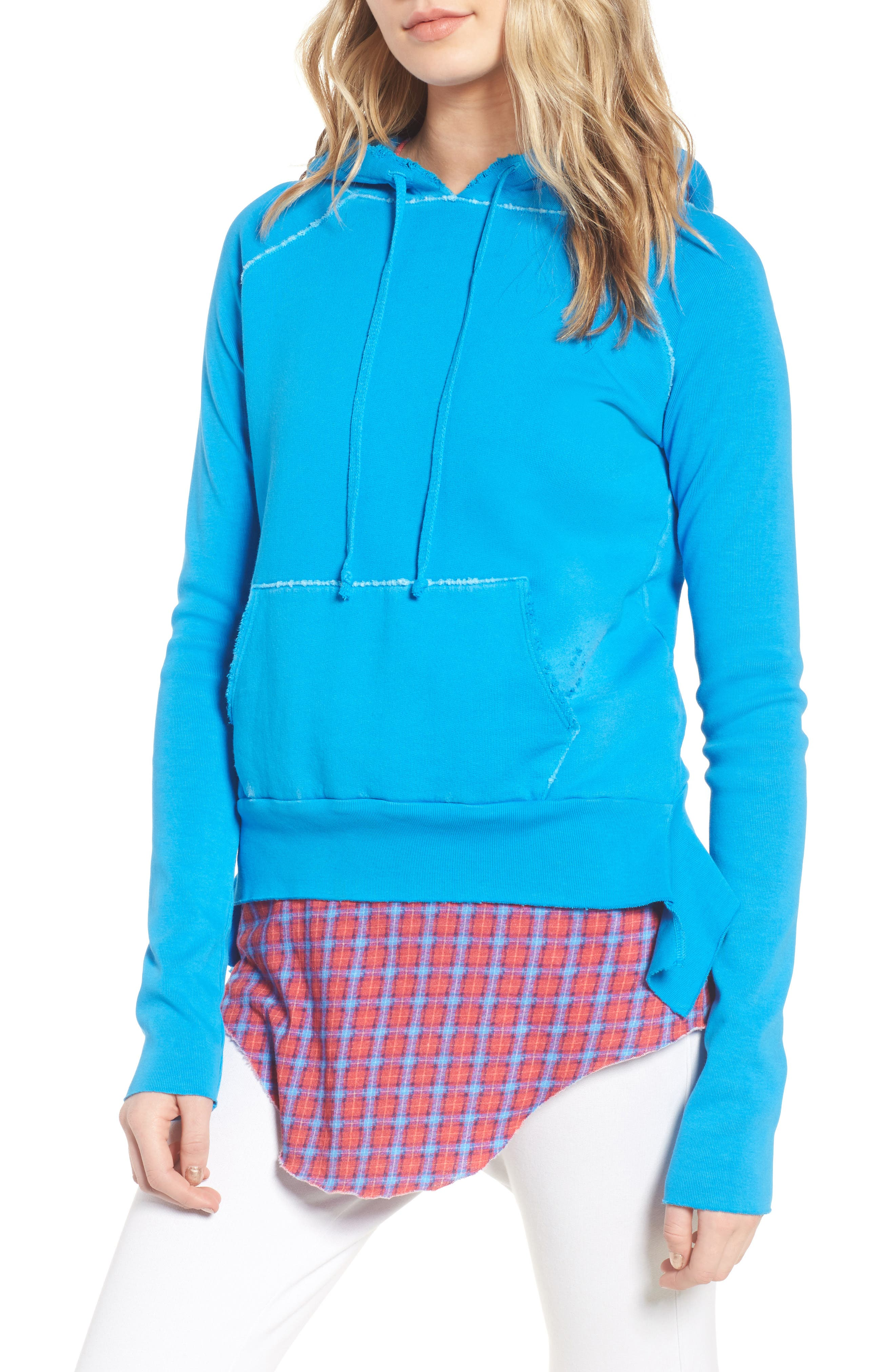 Tee Lab Pullover Hoodie,                         Main,                         color, Highlighter 5 Year Vntge Wsh